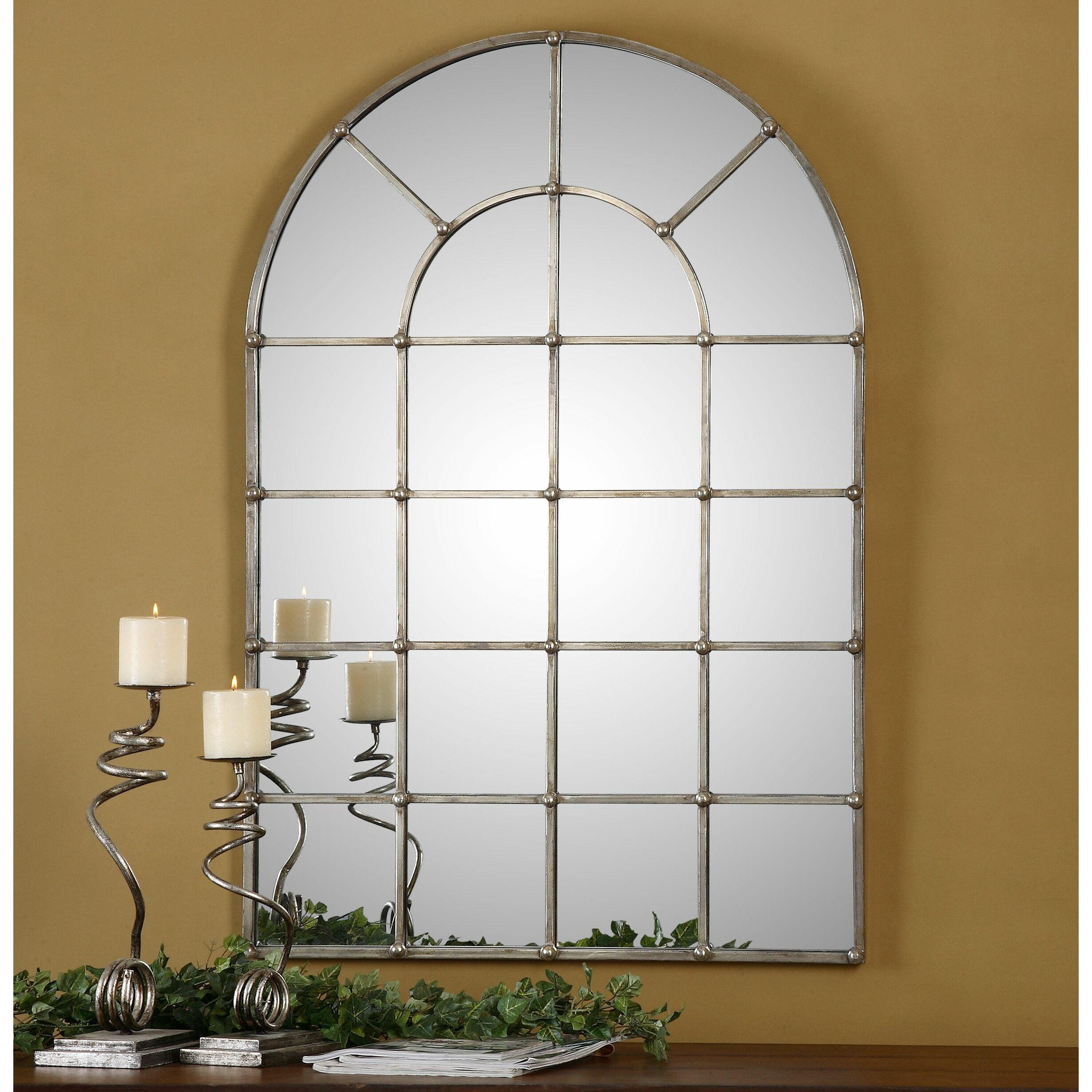 Uttermost Barwell Arch Window Wall Mirror Amp Reviews Wayfair