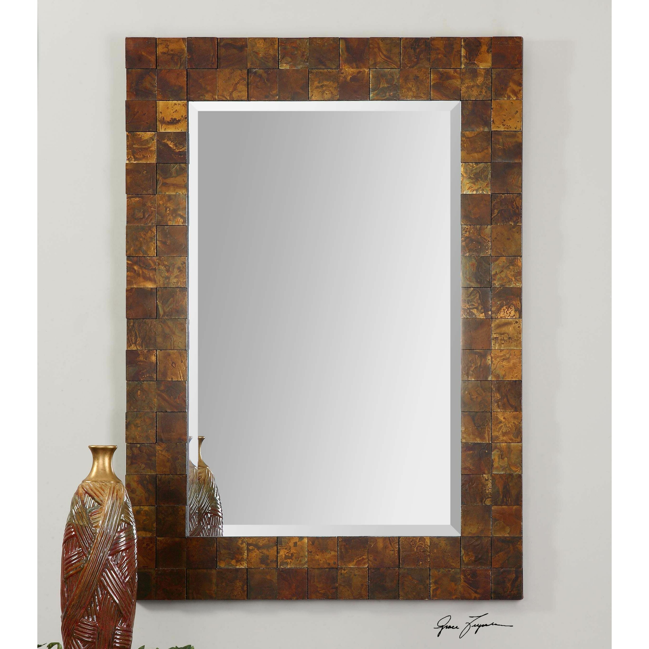 Vivian Wall Mirror By Uttermost: Uttermost Ambrosia Mosaic Wall Mirror & Reviews