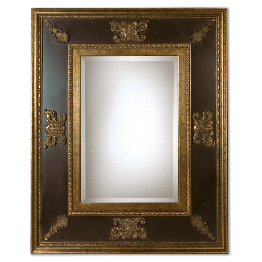 Vivian Wall Mirror By Uttermost: Uttermost Cadence Ornamental Stately Wall Mirror & Reviews