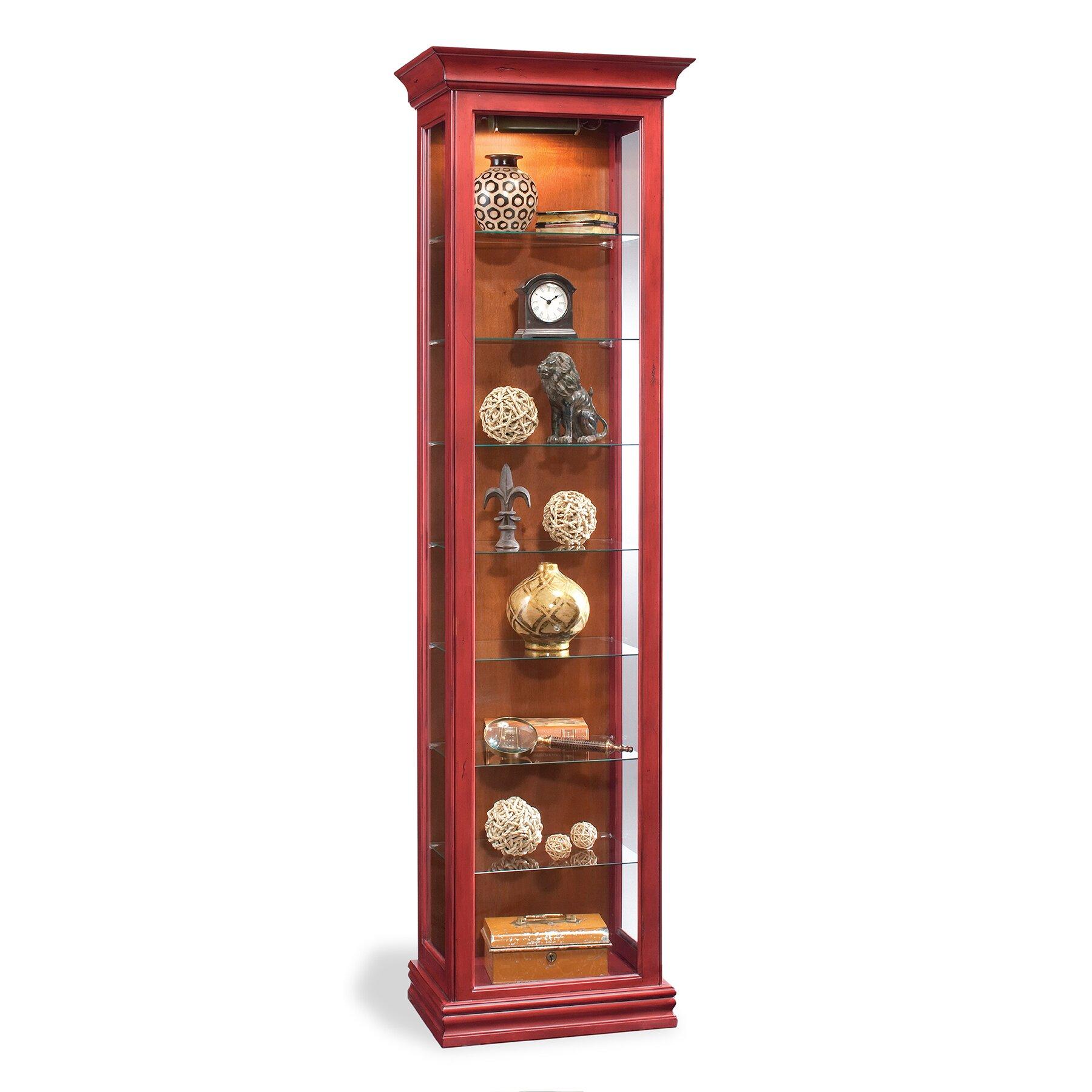 Colortime Harmony Curio Cabinet Wayfair