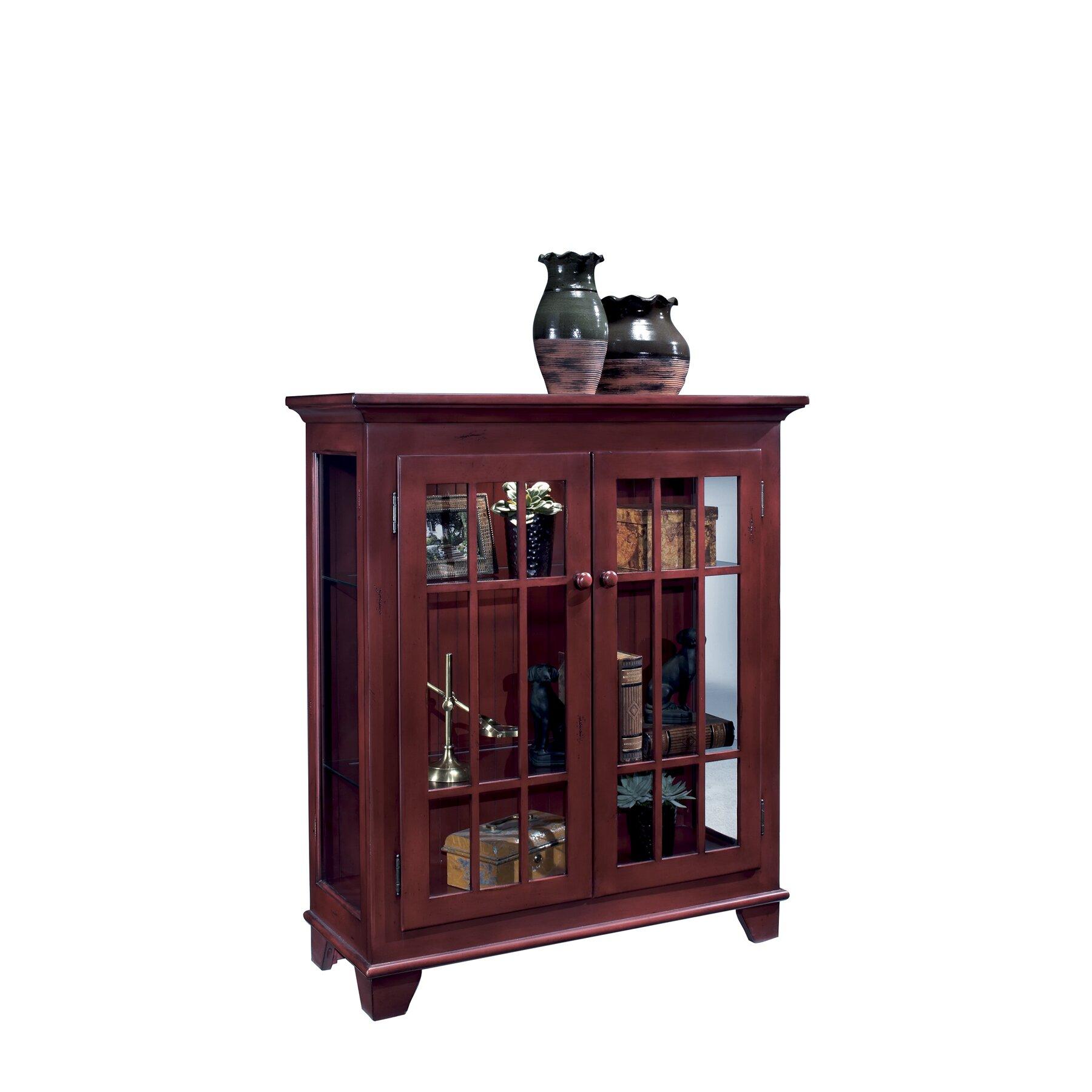 Philip reinisch co colortime barlow curio cabinet amp reviews wayfair