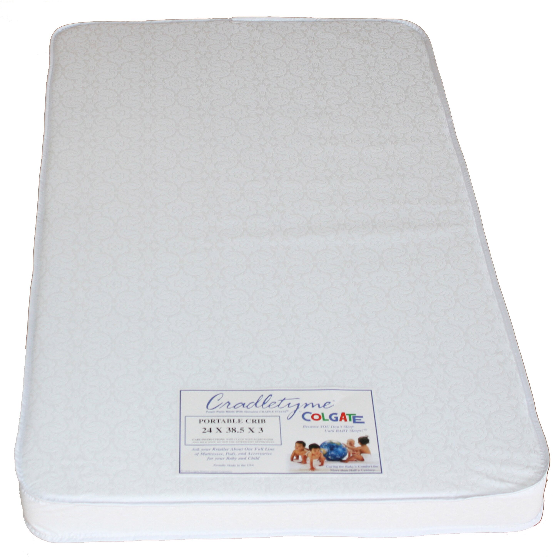 Colgate Portable Crib Mini Crib Mattress & Reviews