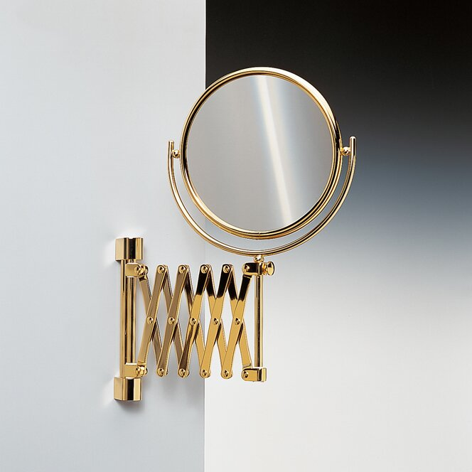 Double Face Wall Mounted Adjustable And Extendable 3x Magnifying Mirror Wayfair