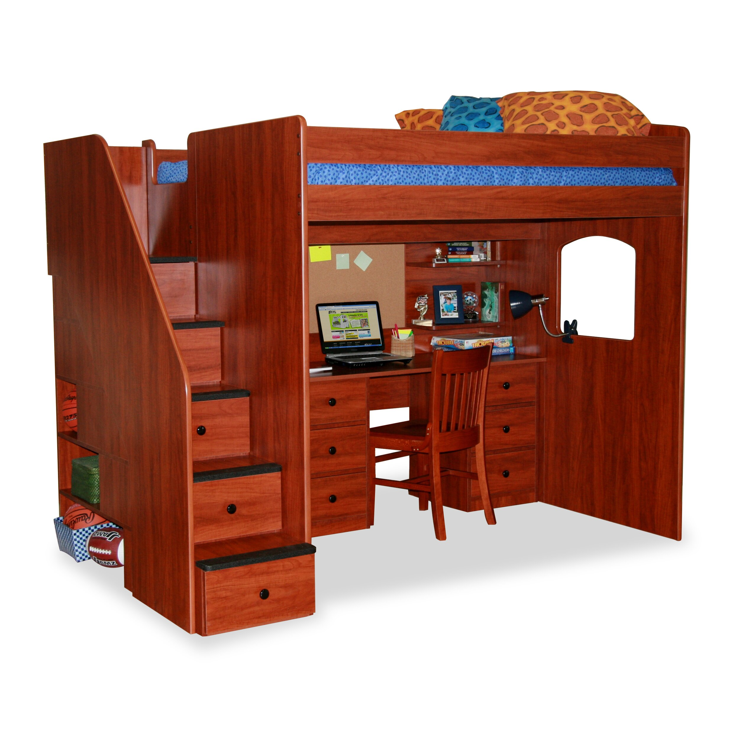 Berg Loft Bed With Stairs
