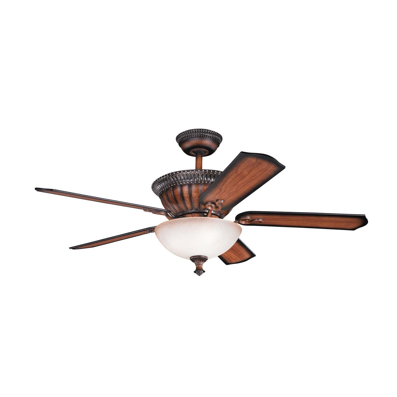 "52"" Larissa 5 Blade Ceiling Fan"