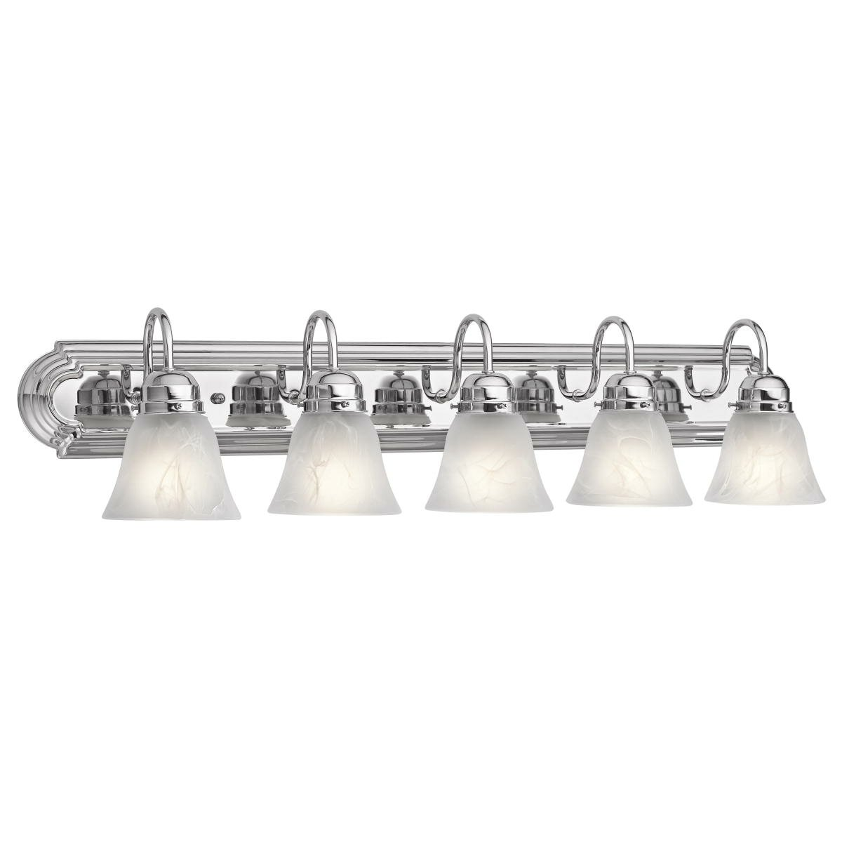 5 Light Bathroom Vanity Light: 5 Light Bath Vanity Light