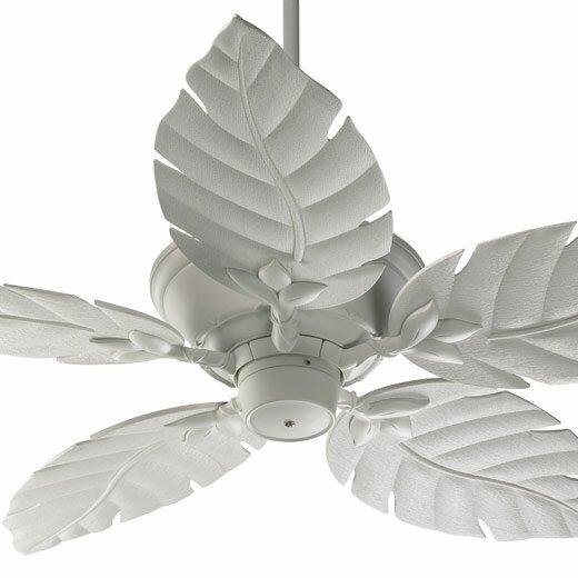 """52 Gauguin Tropical 4 Blade Indoor Outdoor Ceiling Fan: 52"""" Monaco 5 Blade Patio Ceiling Fan"""