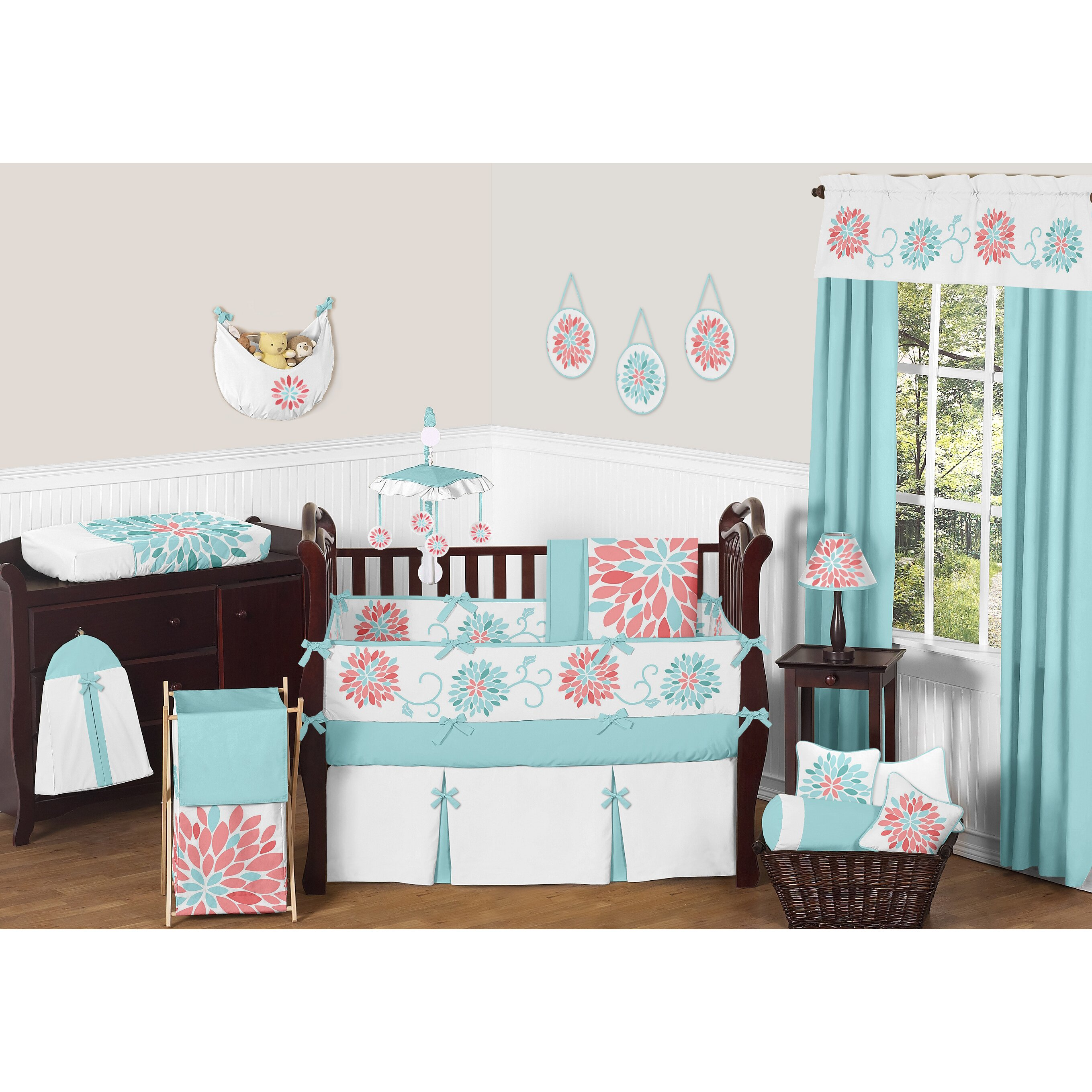 Emma 9 Piece Crib Bedding Set Wayfair