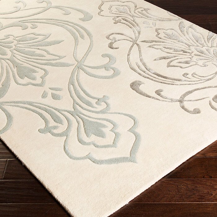 Modern classics beige area rug wayfair for Candice olson area rugs
