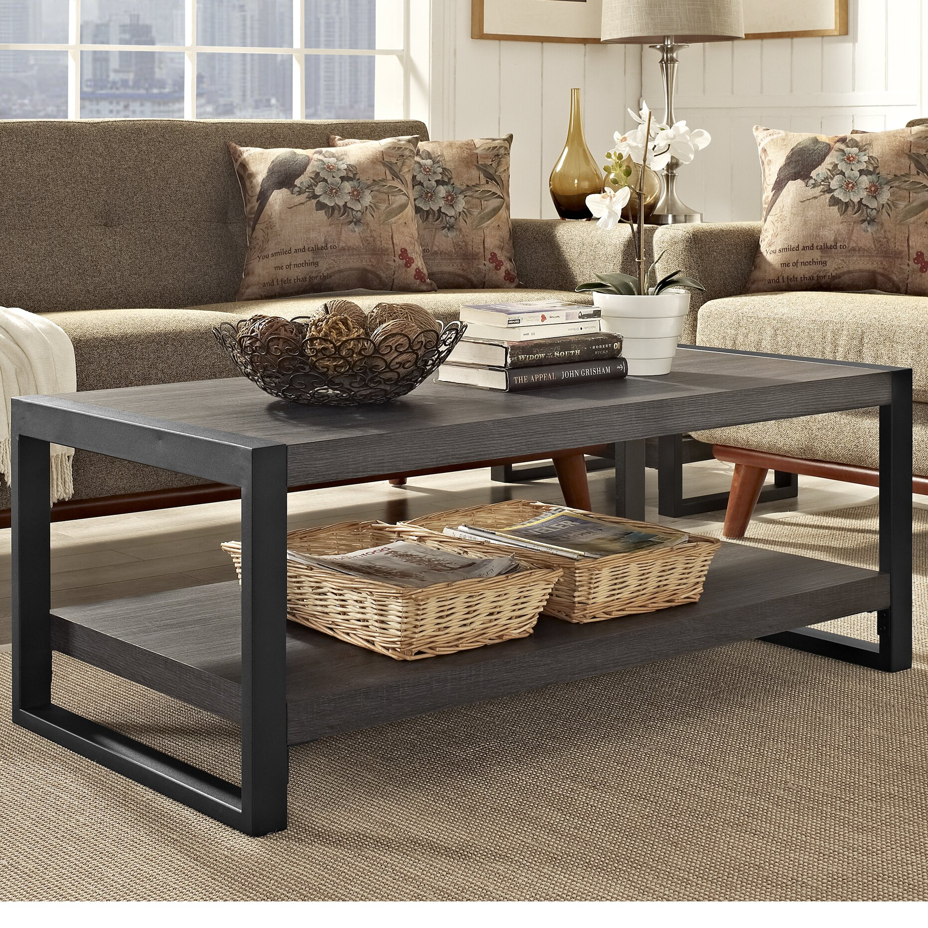 City grove coffee table wayfair Angelo home patio furniture