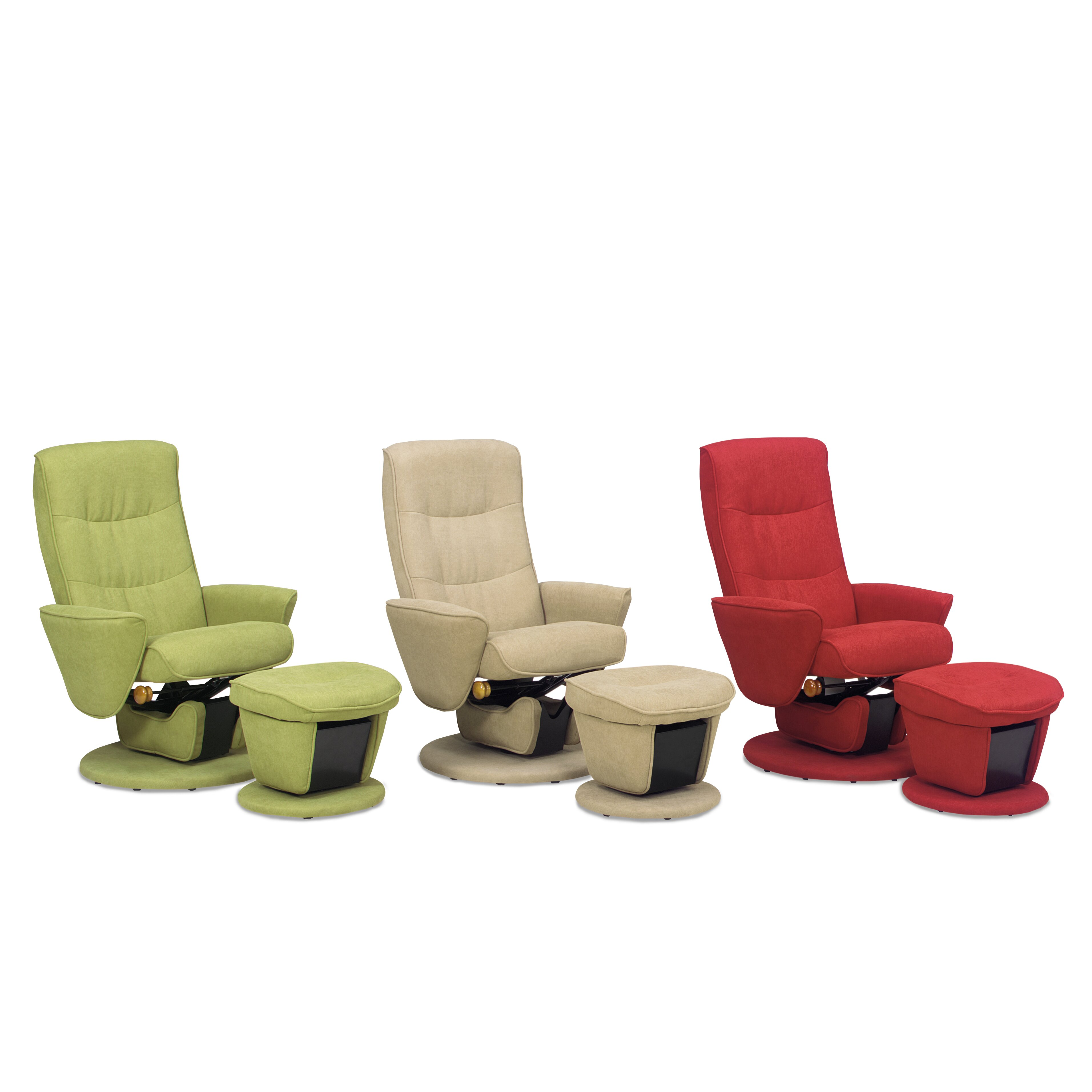 Relax R Laval Fabric Swivel Glider And Ottoman Wayfair Ca