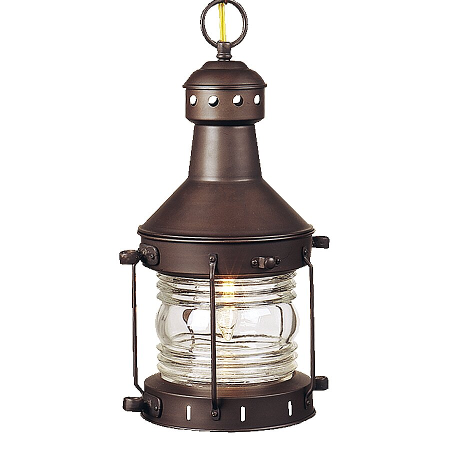 Outdoor Hanging Lanterns With Stand: Carriage House 1 Light Outdoor Hanging Lantern