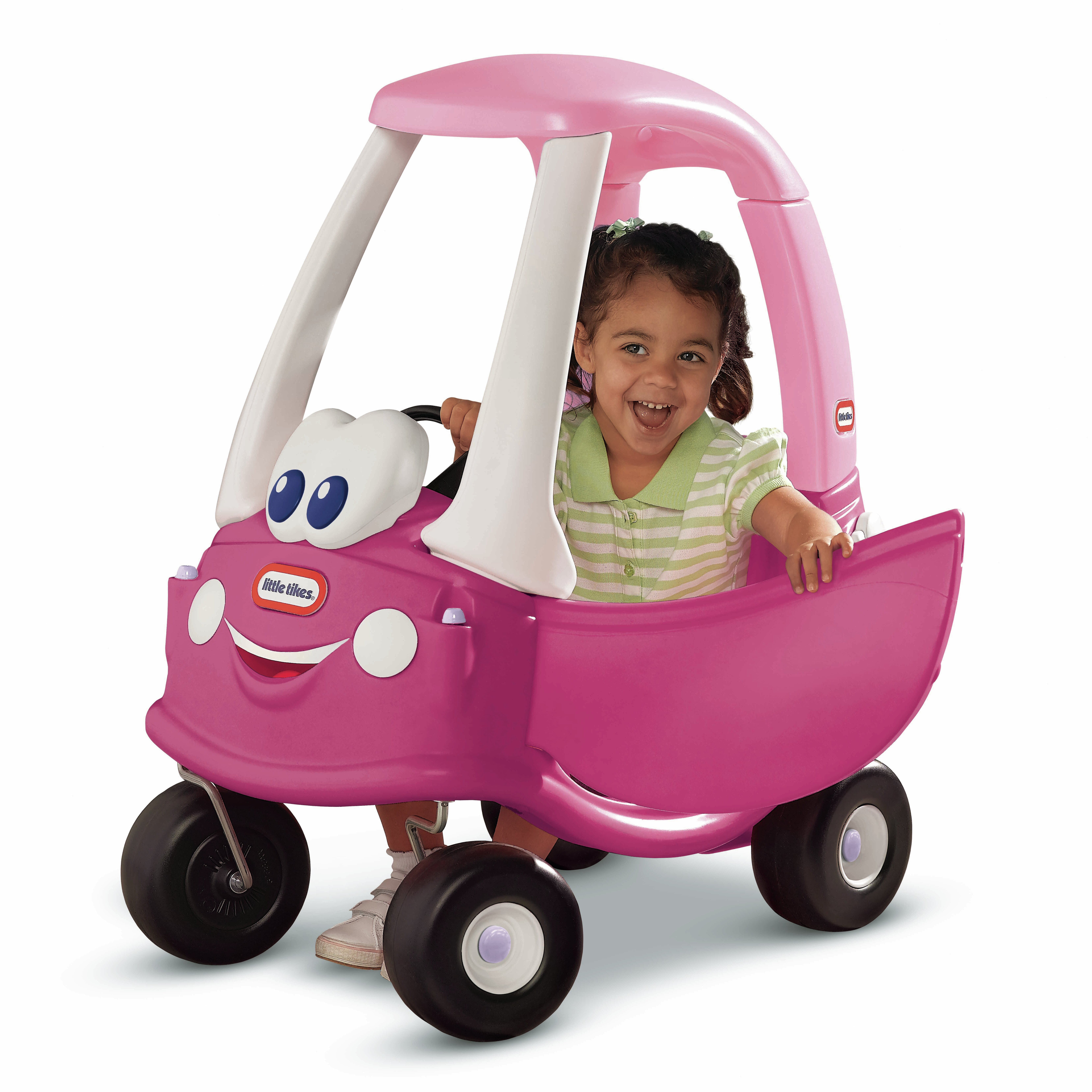 Princess cozy coupe push car wayfair for Little tikes 2 in 1 buildin to learn motor workshop