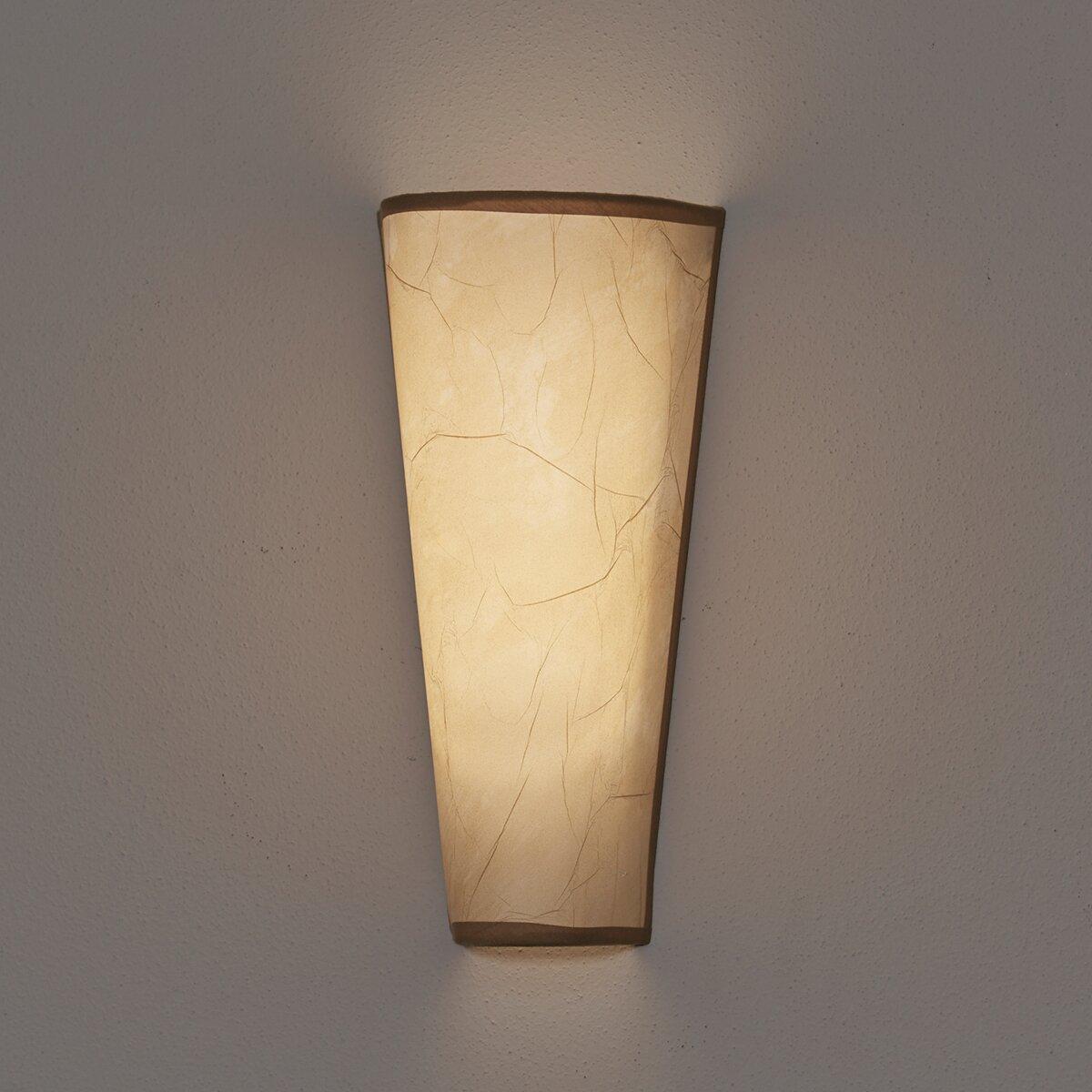 7 Light Rice Paper Wall Sconce | Wayfair