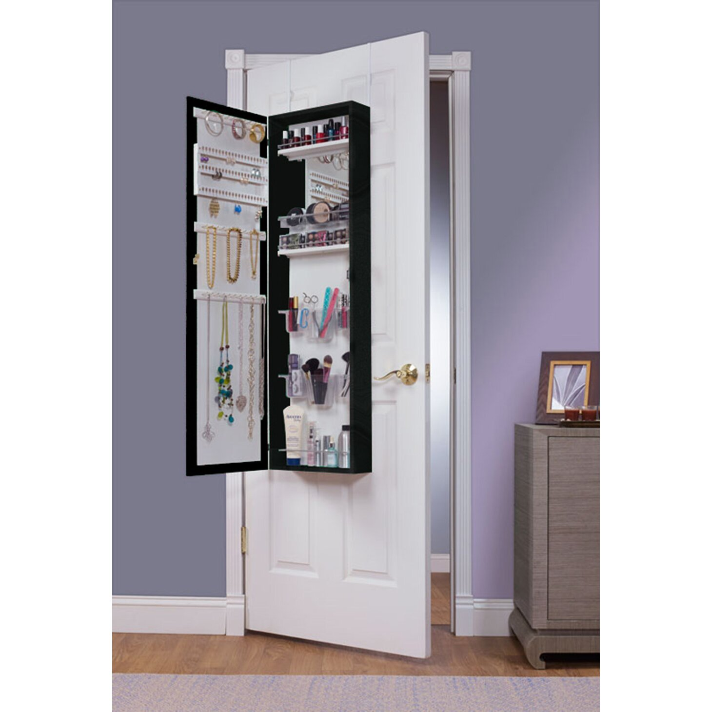 kitchen cabinet overstock with Bination And Makeup Storage Wall Mounted Or Over The Door Jewelry Armoire Eva48 Mek1039 on 7987 as well Product together with Product additionally Product in addition Cultured Marble Vanity Top On Clearance Now At Seigles.