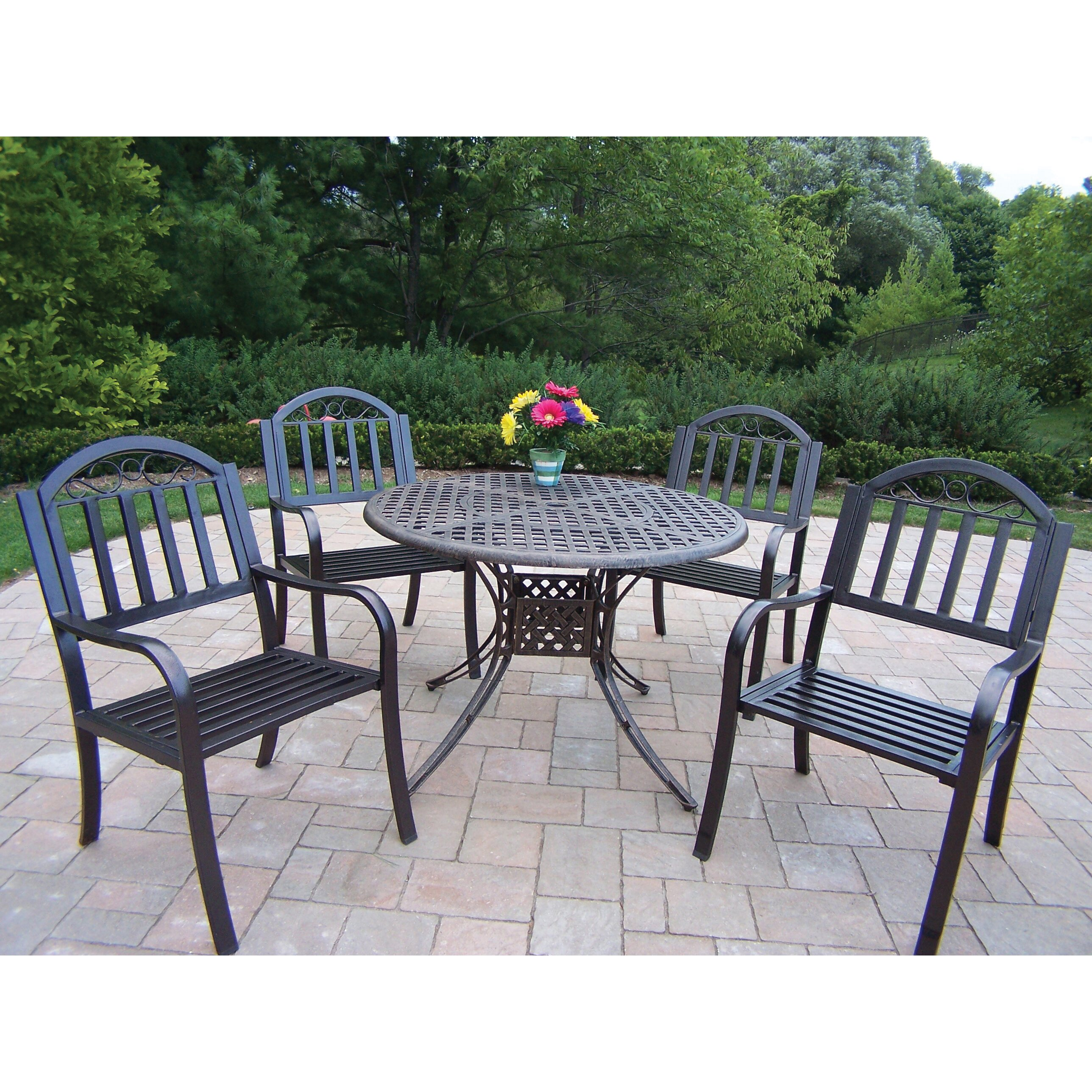 Outdoor Patio Furniture Rochester Ny: Elite Rochester Dining Set