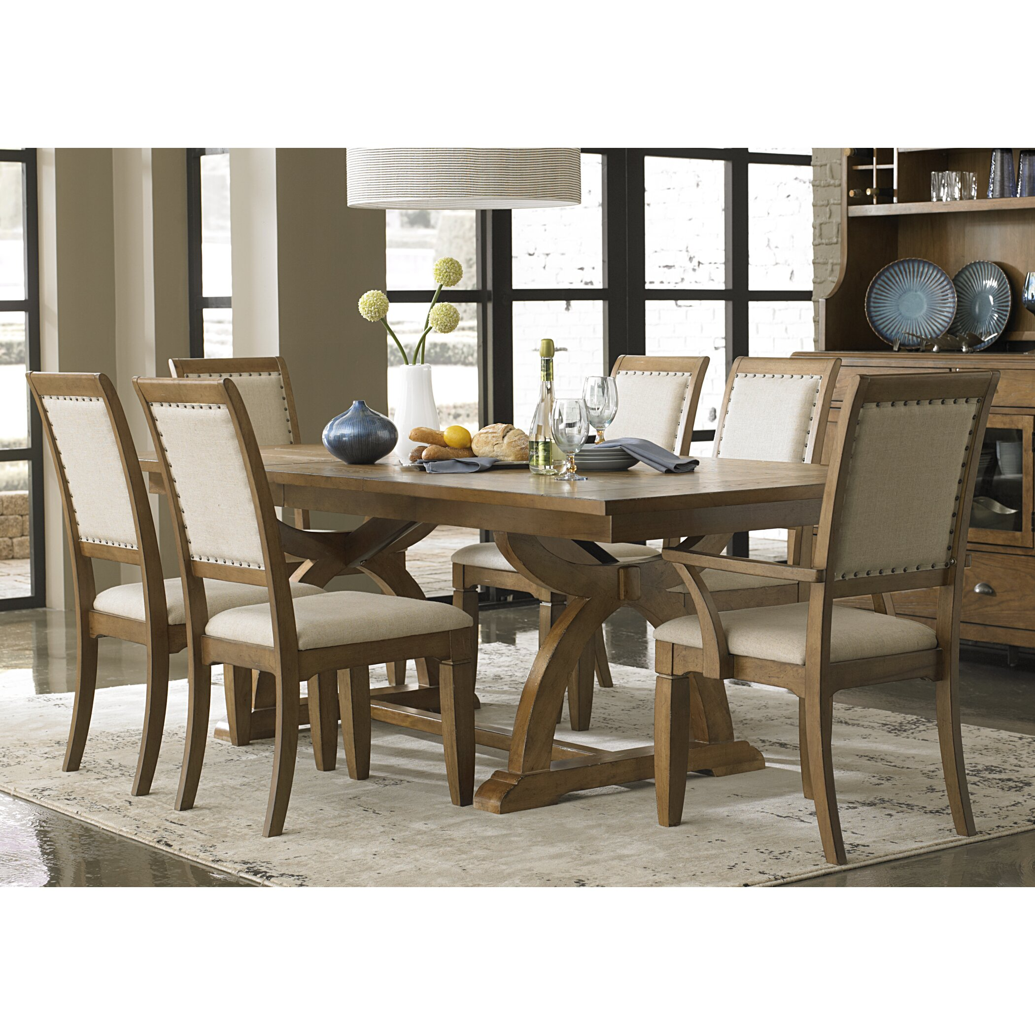 Liberty furniture town and country 7 piece dining set for Furniture 7 reviews