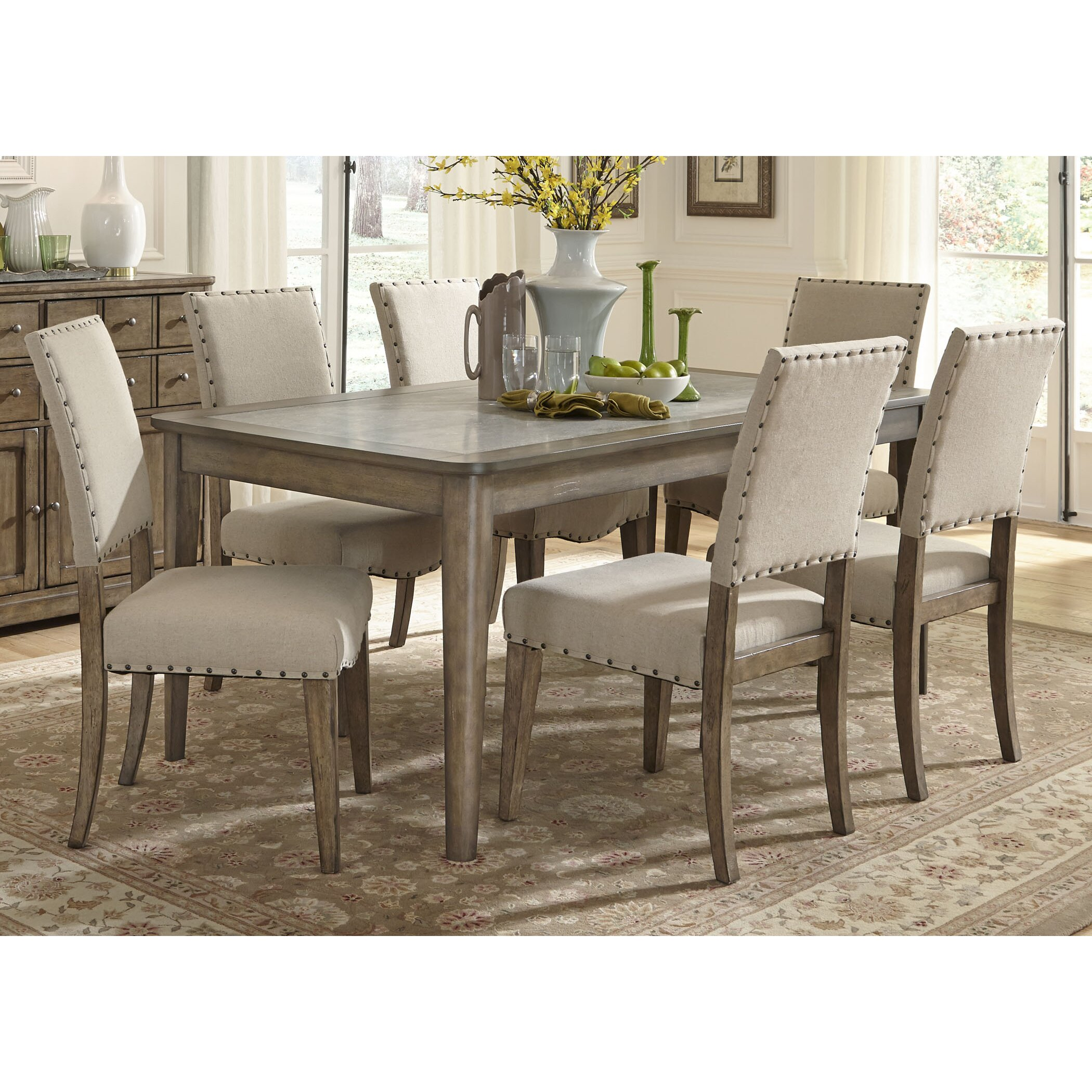 Liberty Furniture Weatherford Leg Dining Table amp Reviews  : Leg Dining Table 645 T3872 from www.wayfair.com size 2100 x 2100 jpeg 825kB