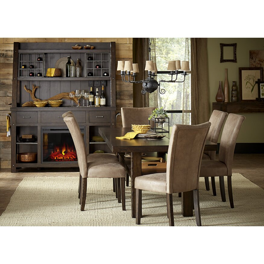 liberty furniture trestle dining table reviews wayfair