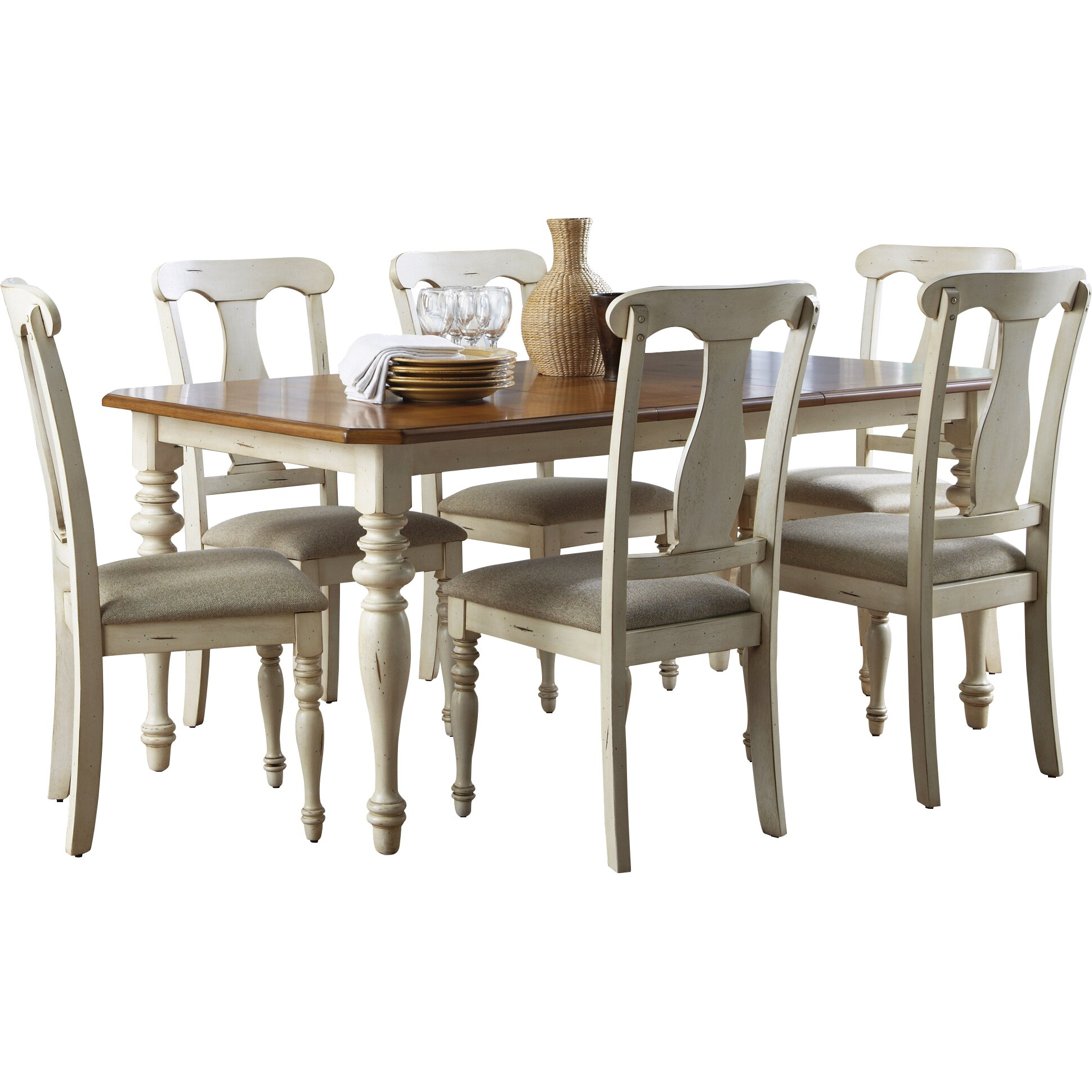 Sutera Extendable Dining Table By Bay Isle Home
