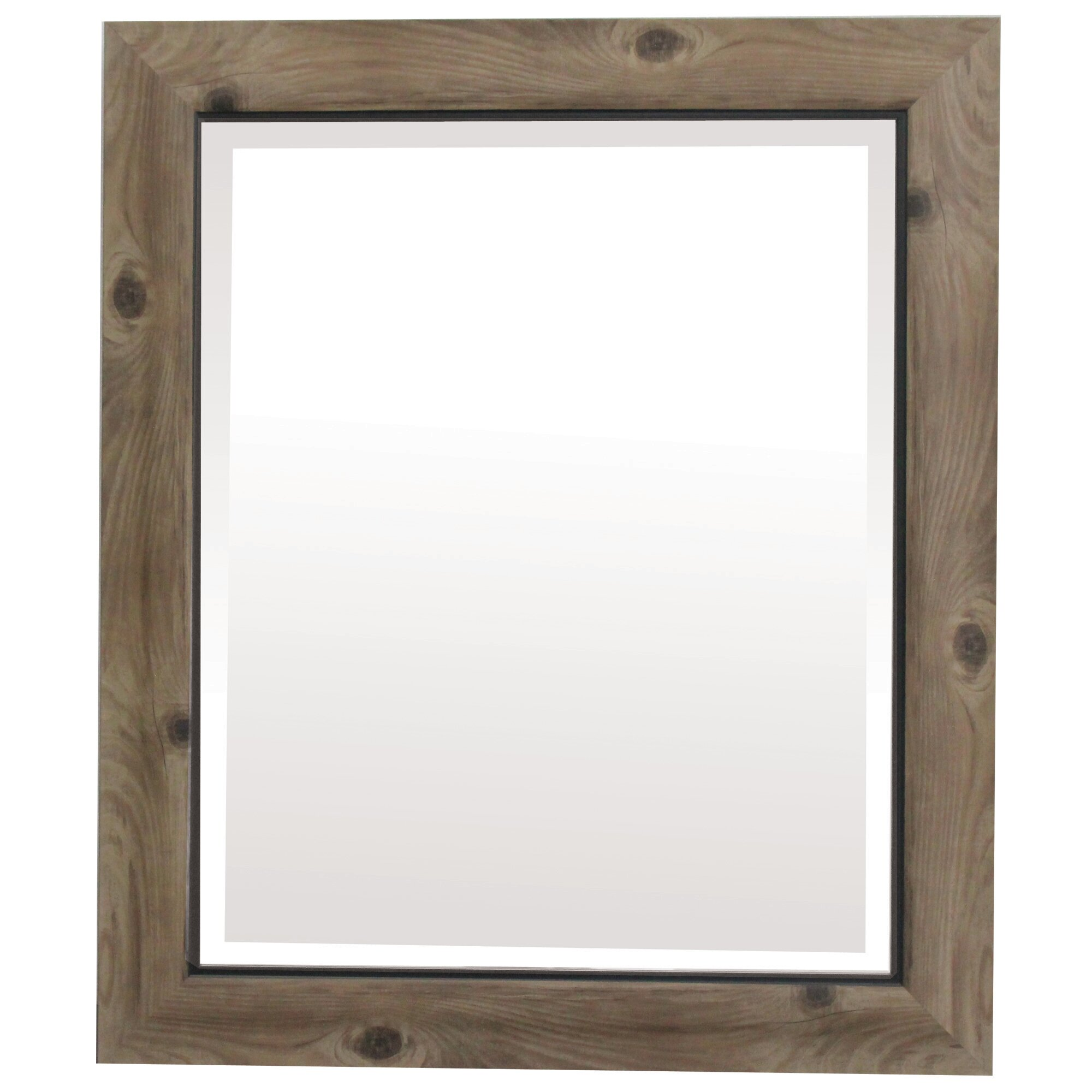 Yosemite Home Decor Framed Wall Mirror Reviews Wayfairca