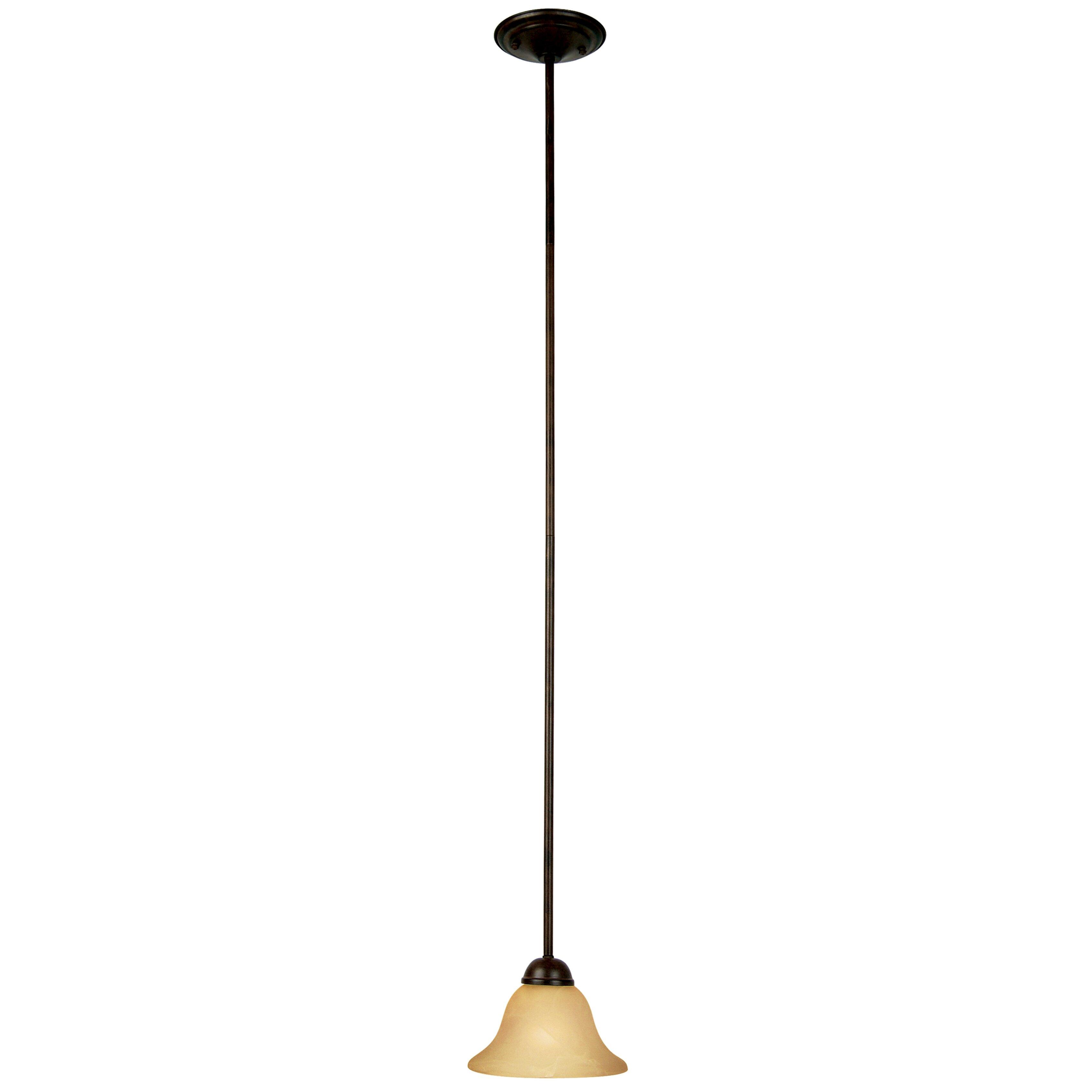 Yosemite home decor vernal falls 1 light mini pendant for Home decorations mini pendant