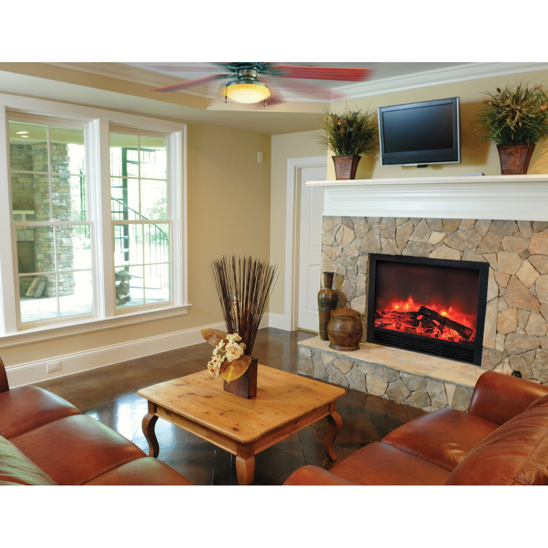 Yosemite Home Decor Widescreen Electric Fireplace Reviews Wayfair