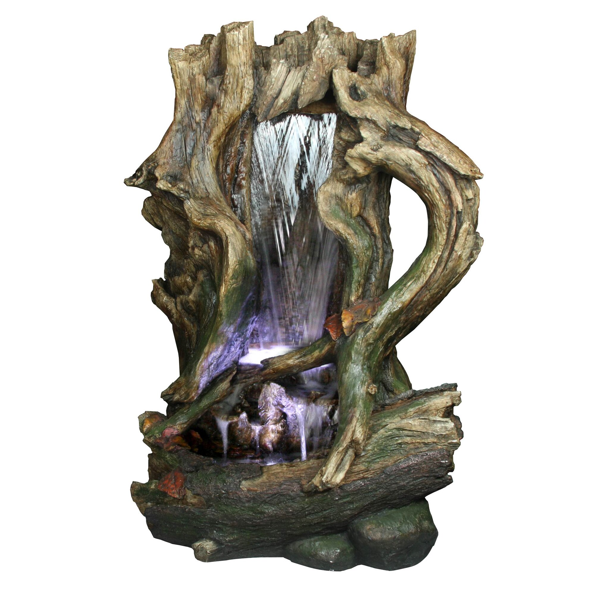 yosemite home decor tree stump fountain