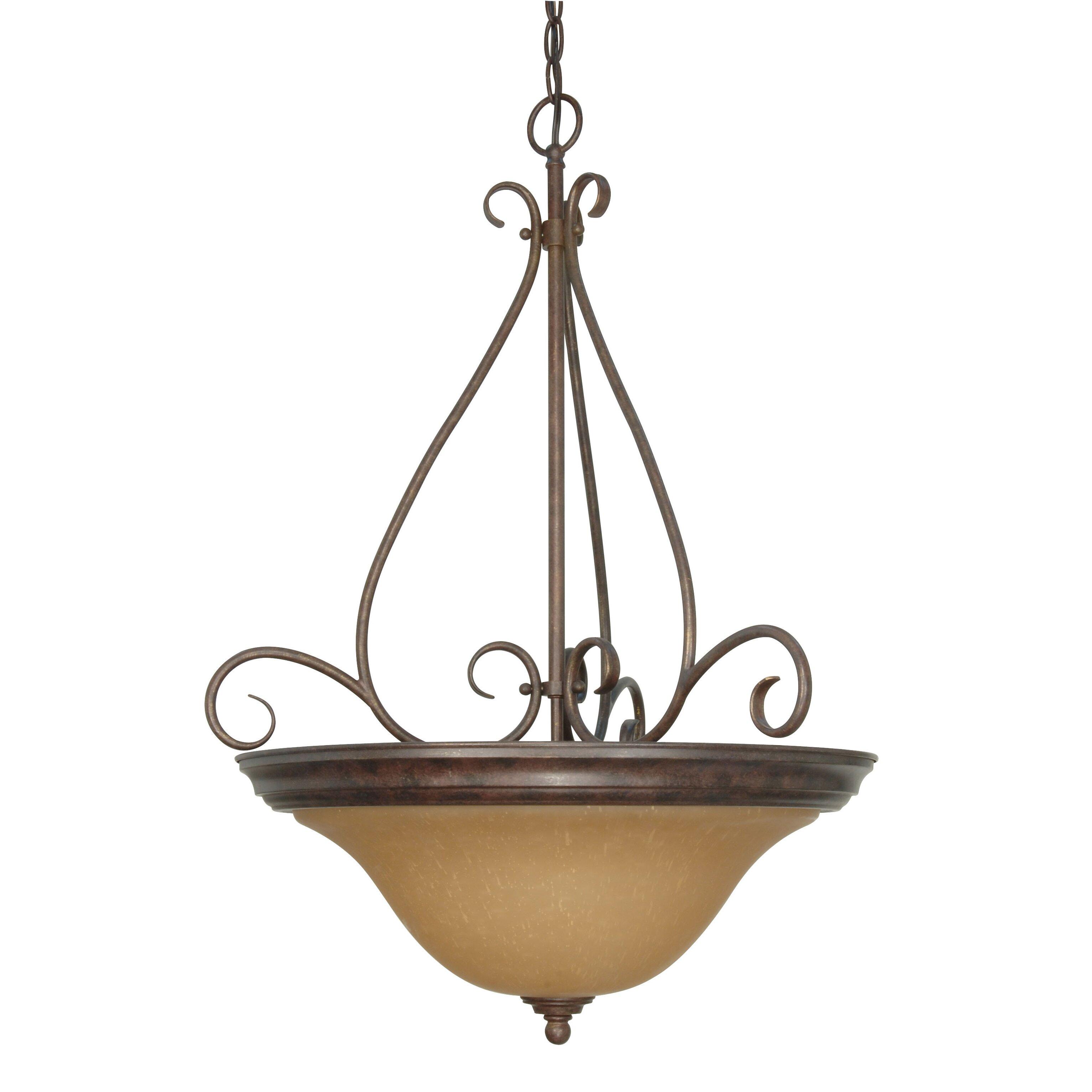 lighting ceiling lights bowl or inverted pendants nuvo lighting. Black Bedroom Furniture Sets. Home Design Ideas