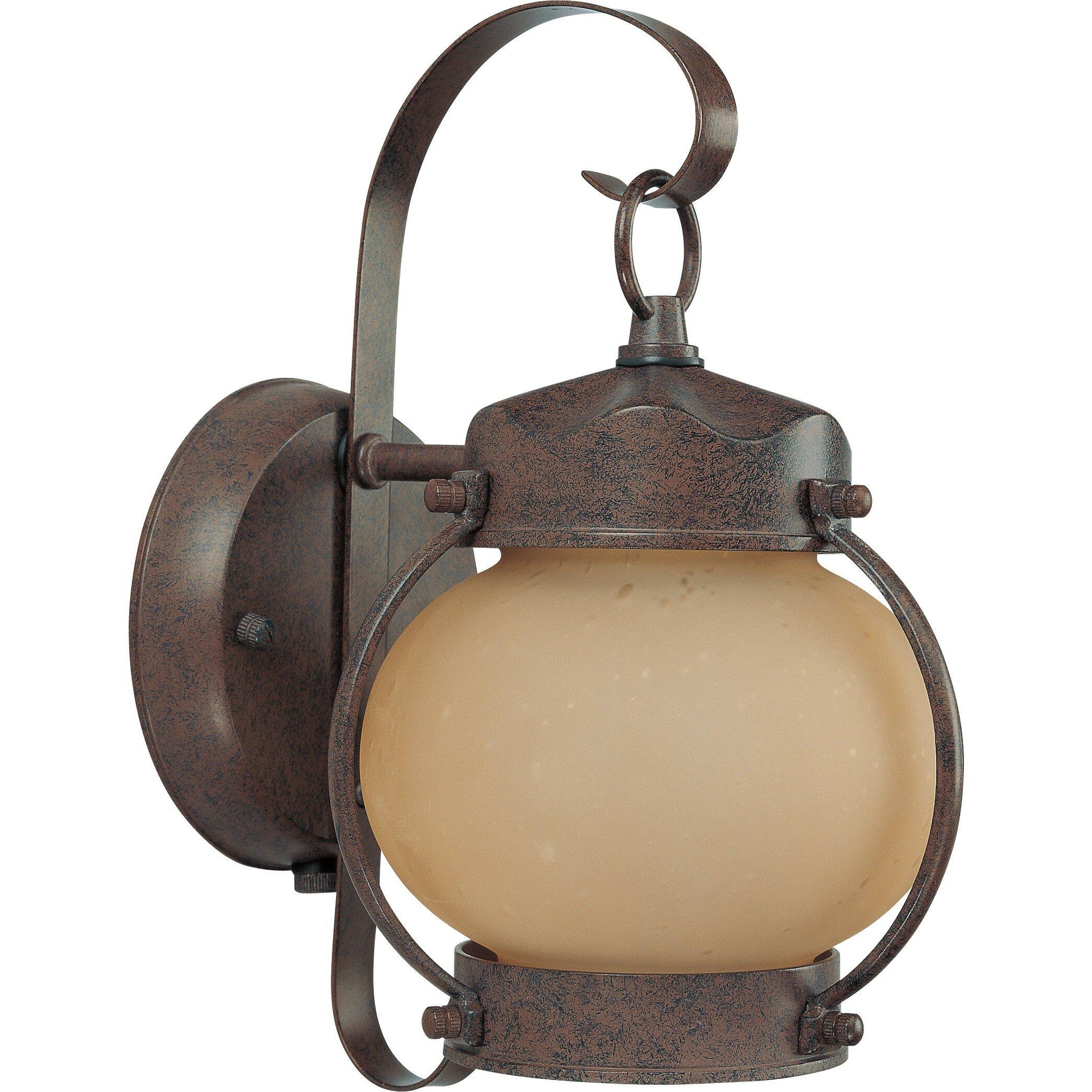 lighting outdoor lighting outdoor wall lanterns nuvo lighting sku. Black Bedroom Furniture Sets. Home Design Ideas
