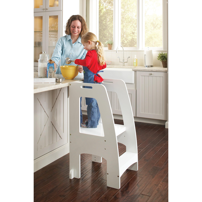 Guidecraft Household Helper 2 Step Manufactured Wood Step