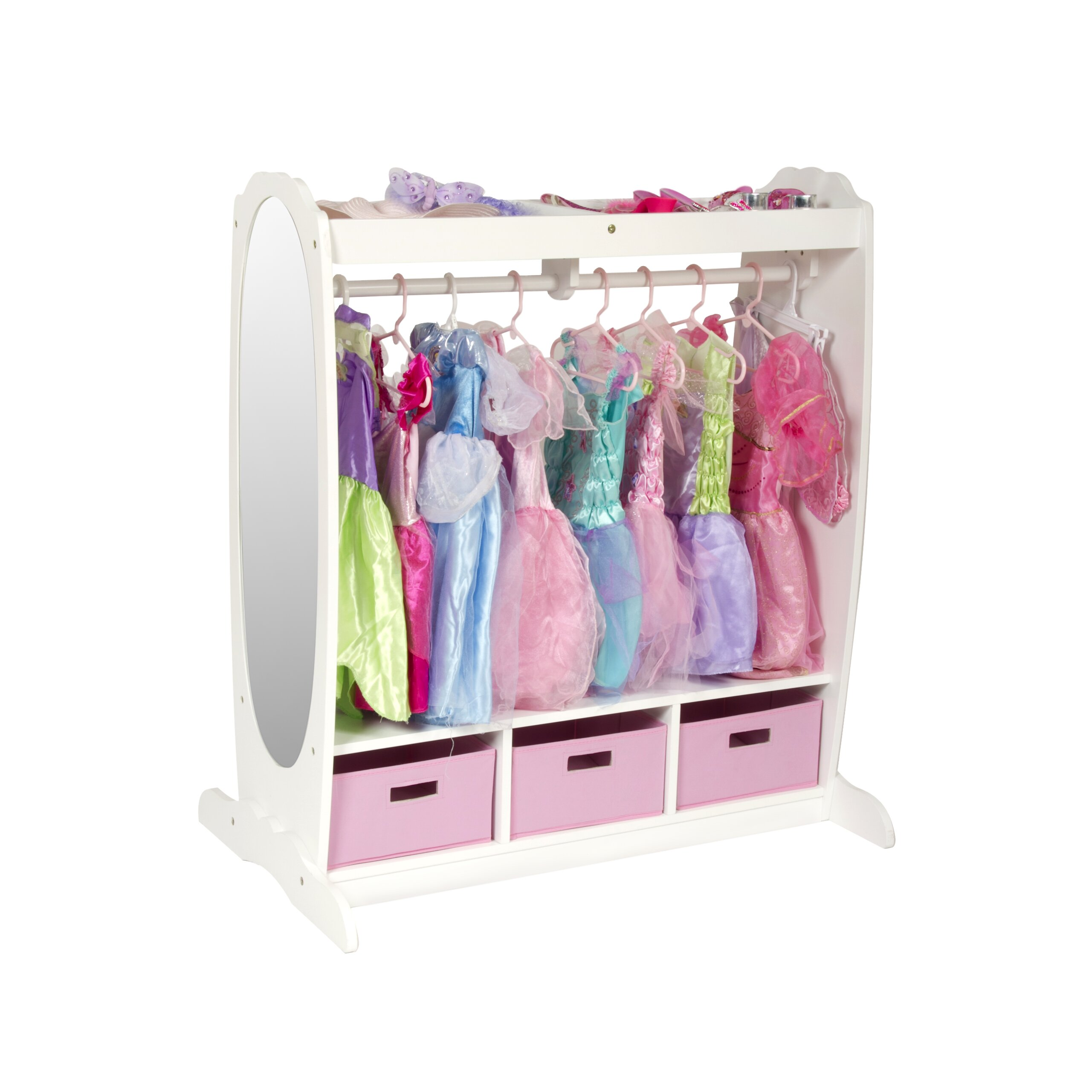 Guidecraft Dress Up Storage Closet Amp Reviews Wayfair