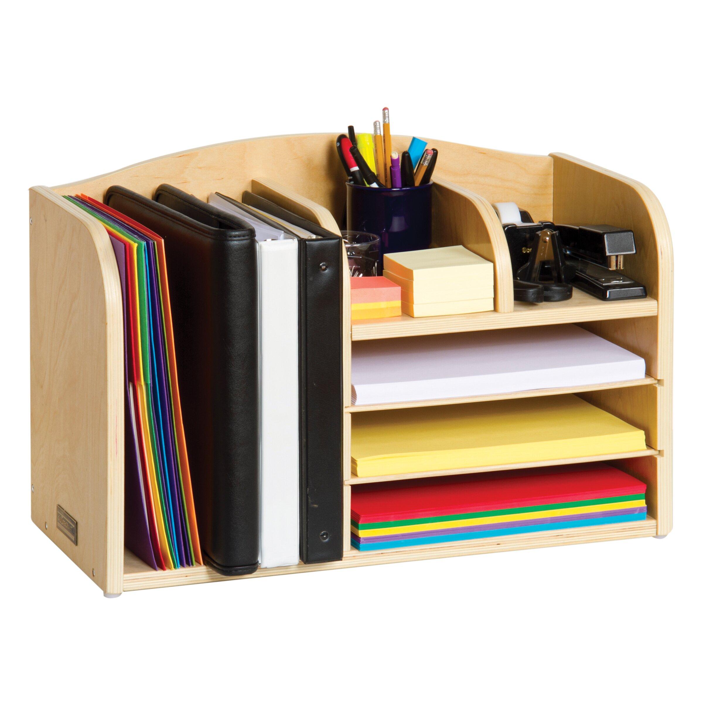 Classroom furniture high desk organizer wayfair - Classroom desk organization ...