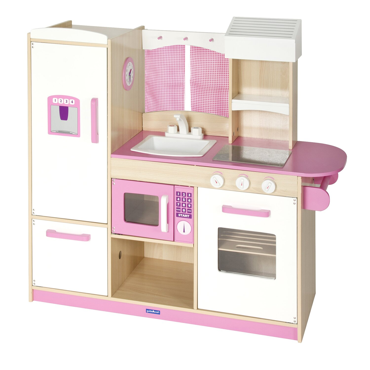 Guidecraft Dramatic Play Kitchen Amp Reviews Wayfair