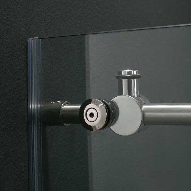 Elan 68 To 72 In Frameless Sliding Shower Door With 375