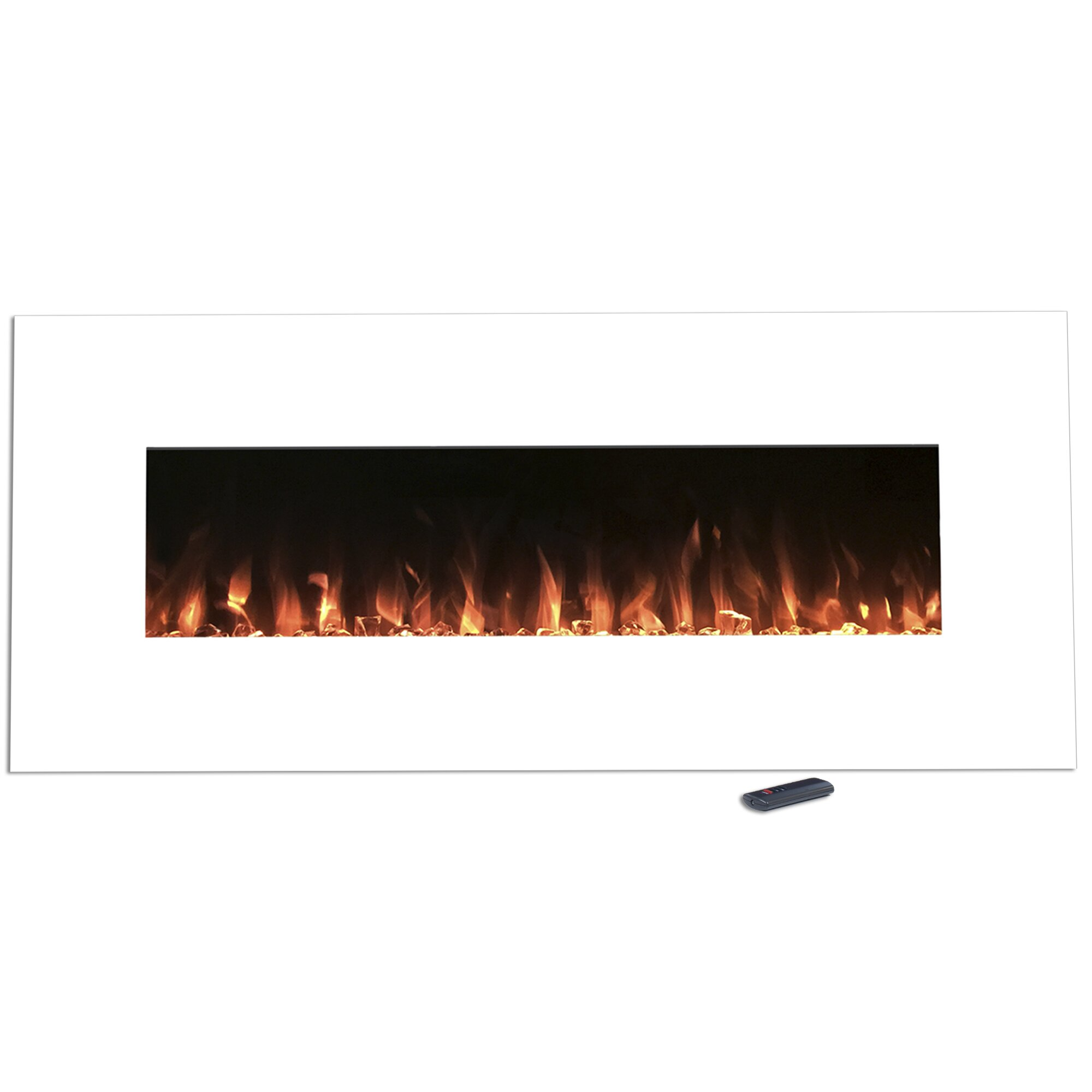 pearl wall mount electric fireplace wayfair