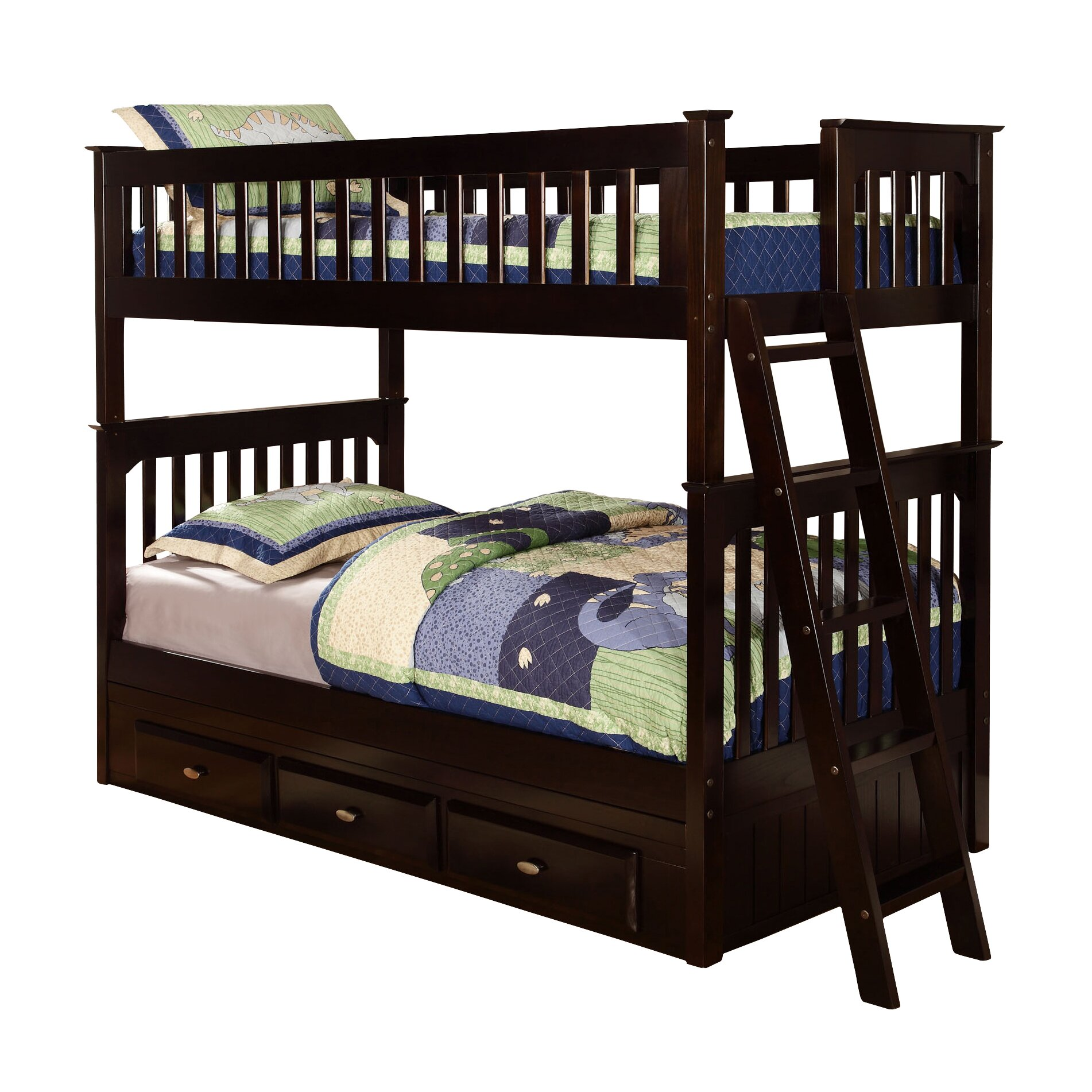 Viv Rae Kaitlyn Twin Bunk Bed Amp Reviews Wayfair