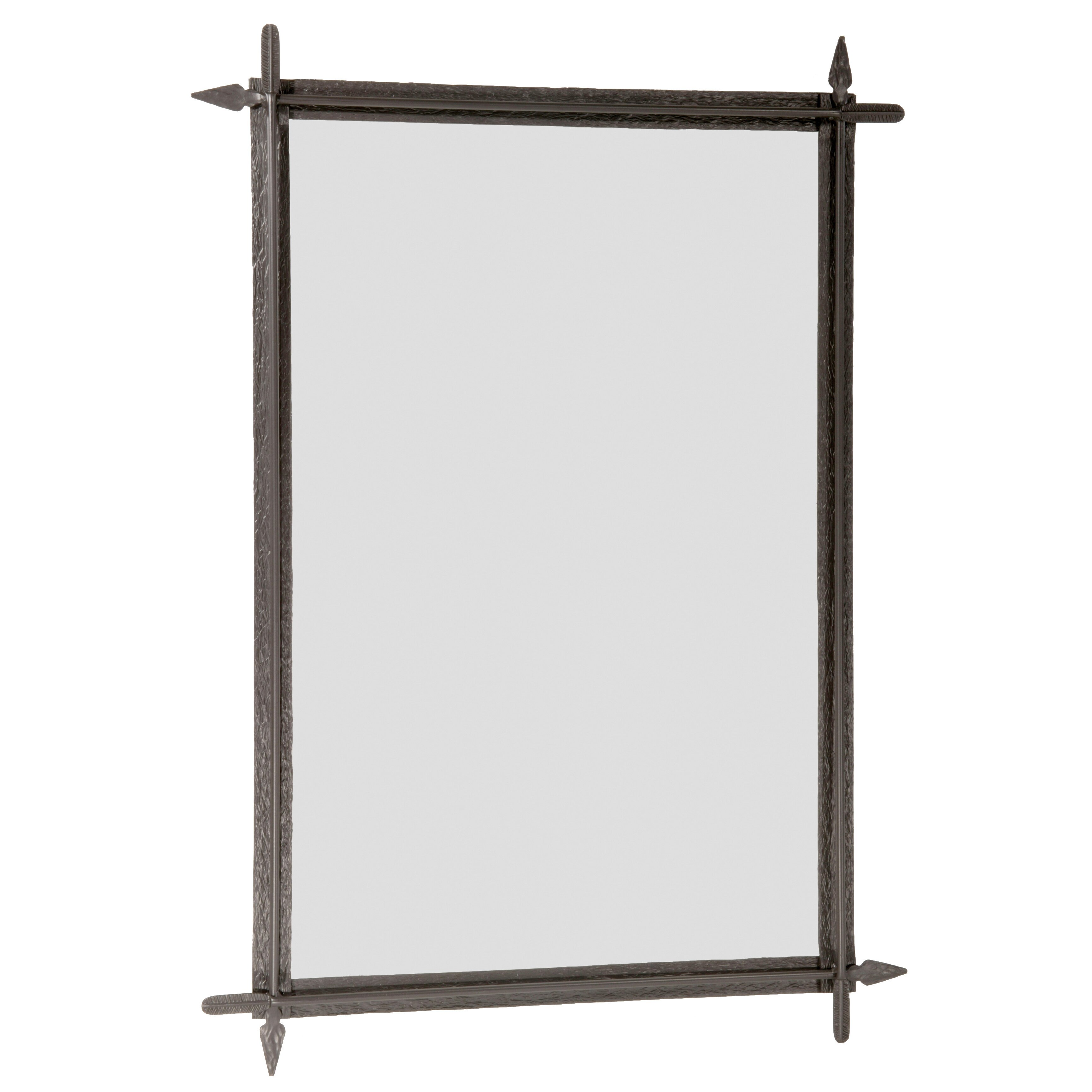 Stone county ironworks quapaw small wall mirror wayfair for Small wall mirrors