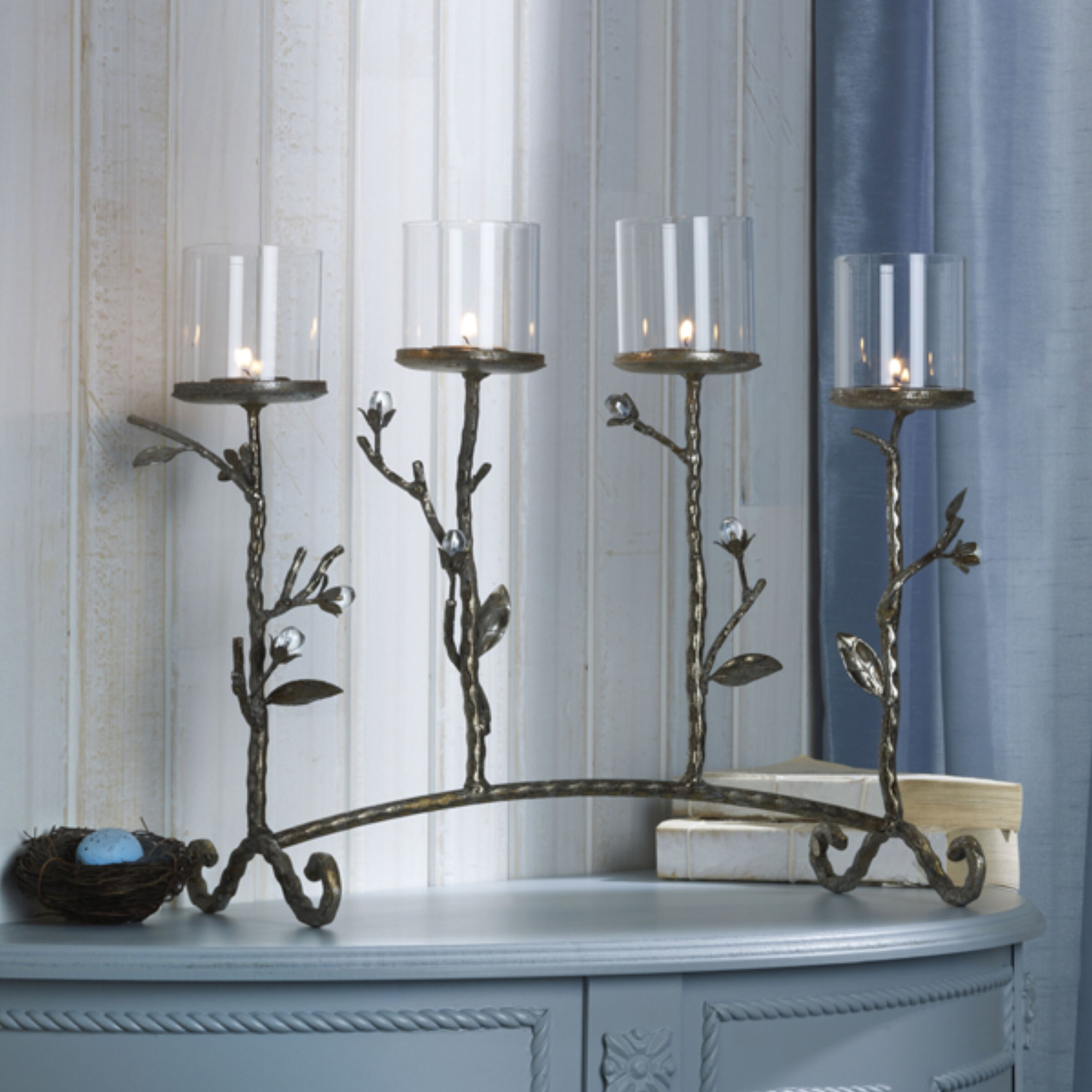 Mikasa light gilded twigs centerpiece sconce reviews