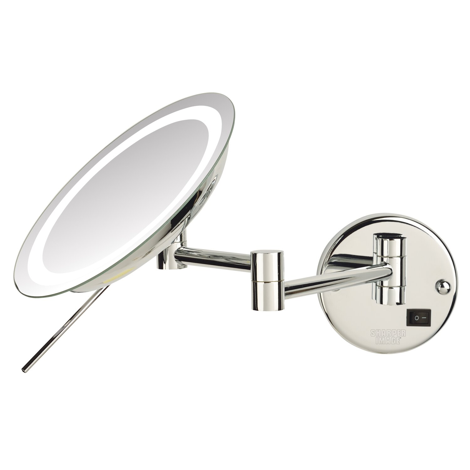 jerdon led 8x magnifying wall mount makeup mirror. Black Bedroom Furniture Sets. Home Design Ideas