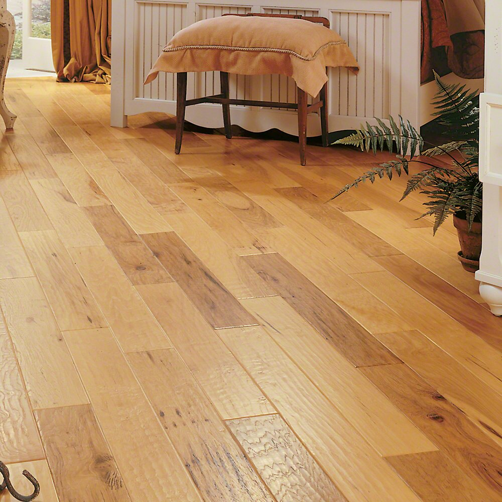 5 Quot Engineered Hickory Hardwood Flooring In Spicy Cider