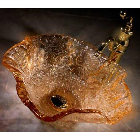 Alina Art Glass Vessel Bathroom Sink Wayfair