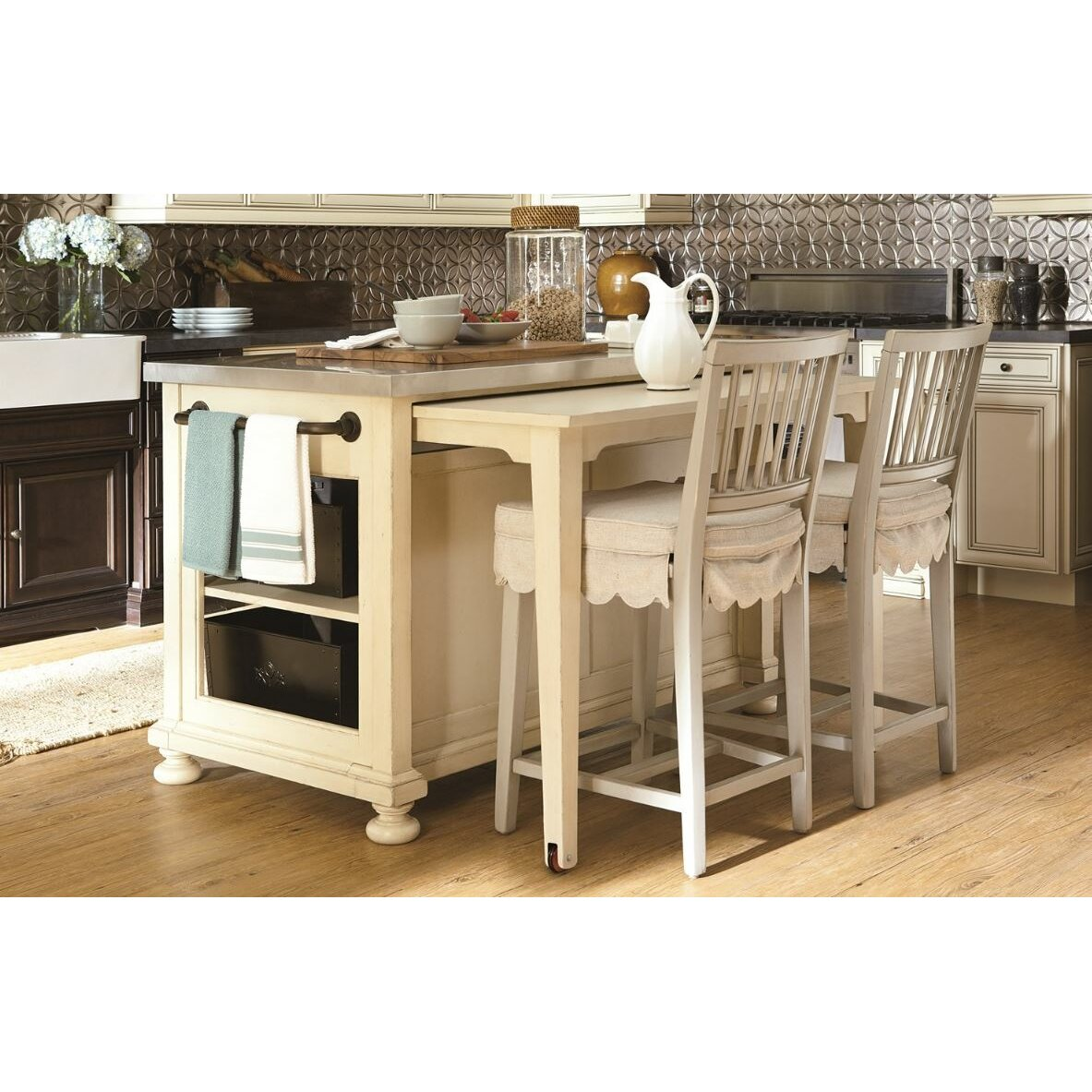 Kitchen Island Furniture: Paula Deen Home River House River House Kitchen Island