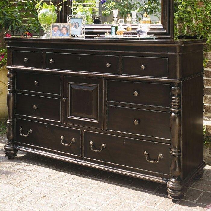 Steel Magnolia 9 Drawer Dresser Wayfair