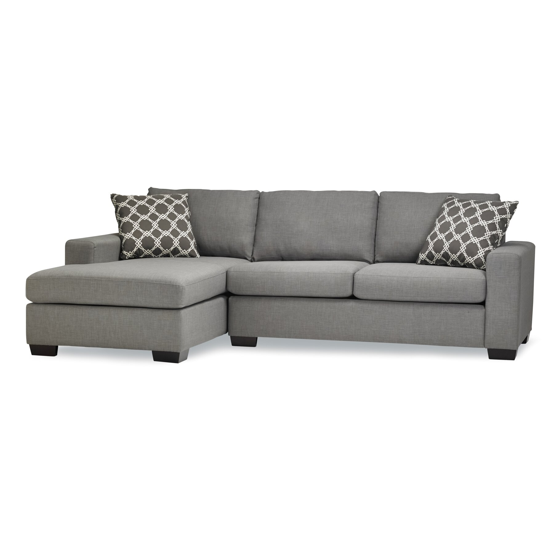 mimi sleeper sectional wayfair. Black Bedroom Furniture Sets. Home Design Ideas
