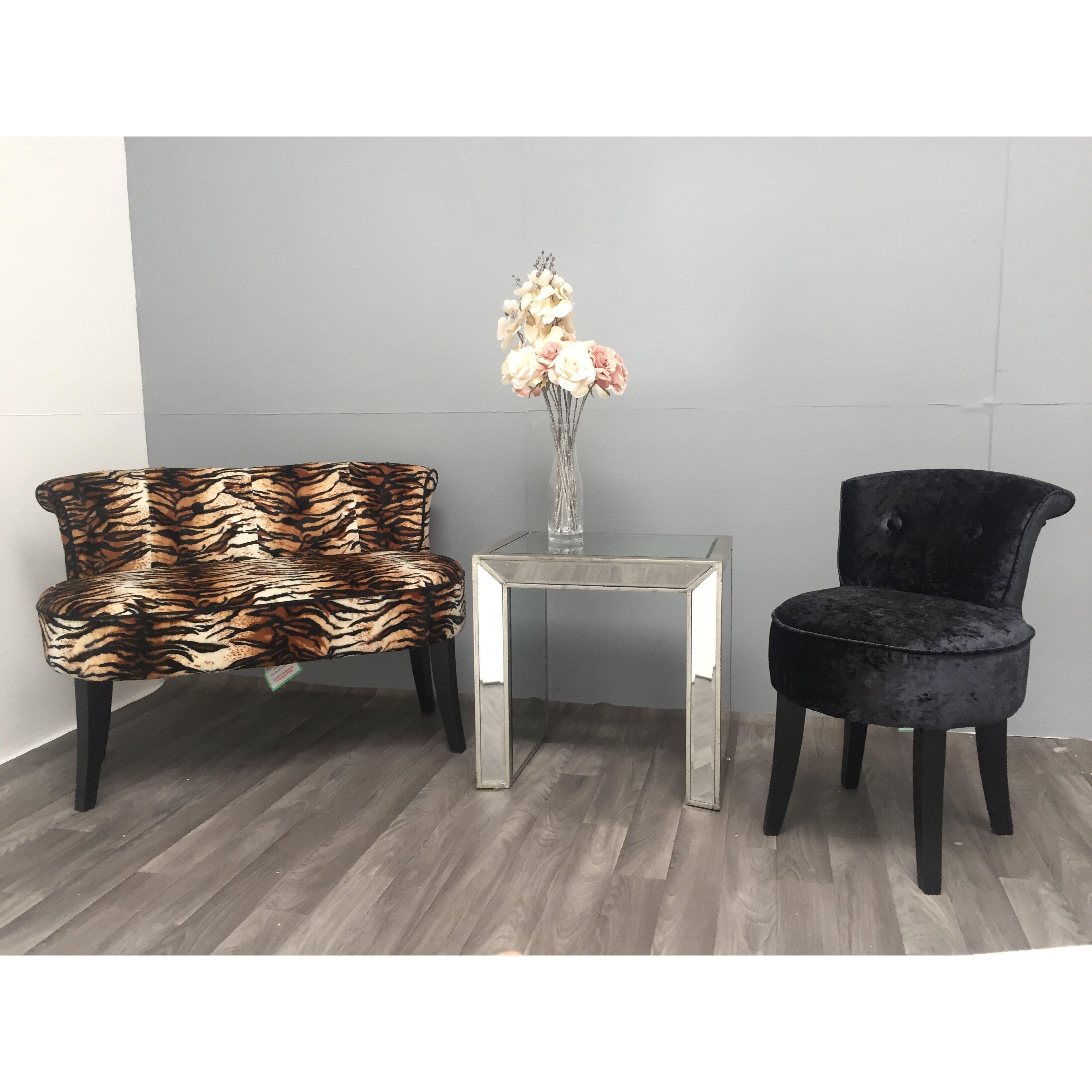 beistelltisch vintage von manufacturer. Black Bedroom Furniture Sets. Home Design Ideas