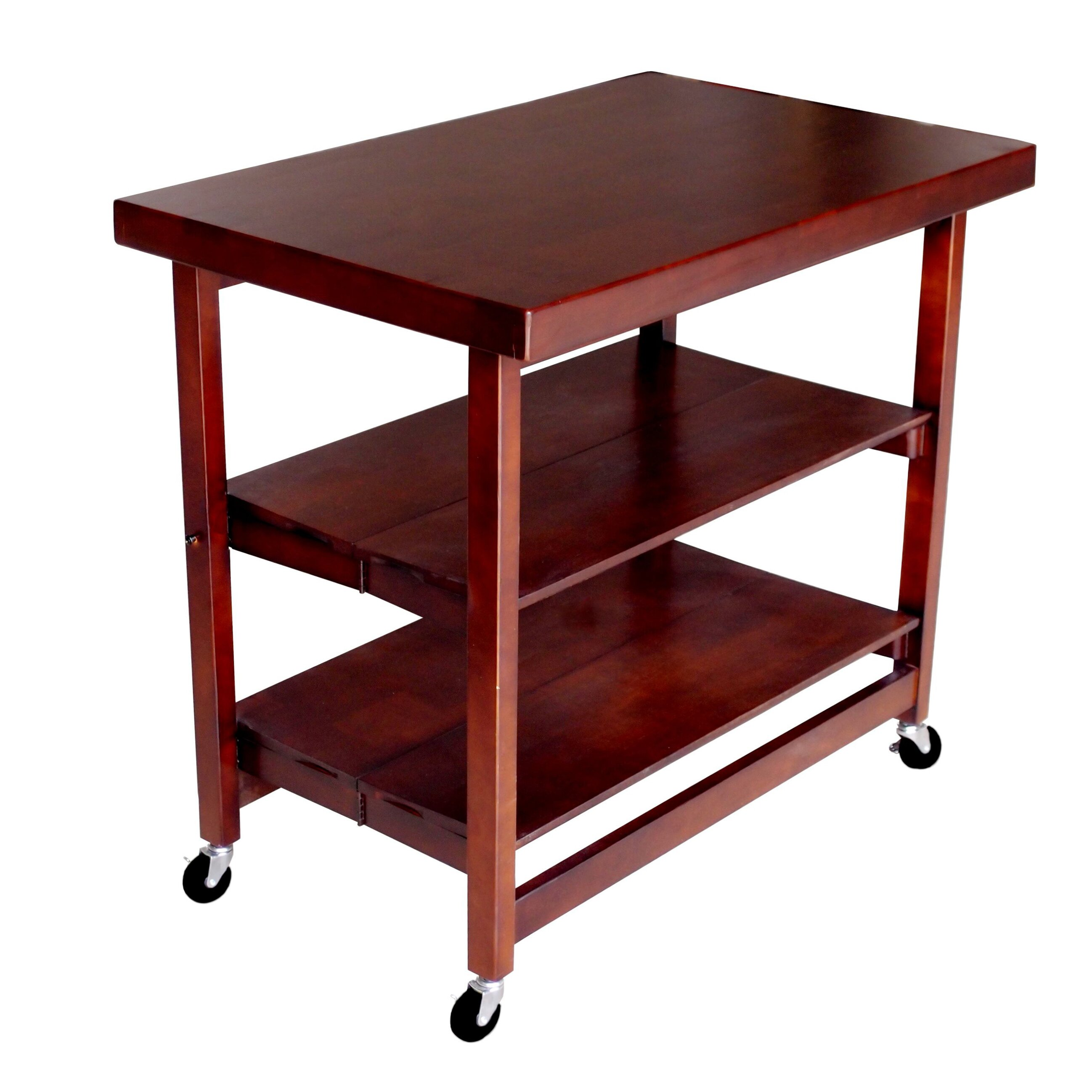folding kitchen island folding kitchen island with wood top wayfair 7794