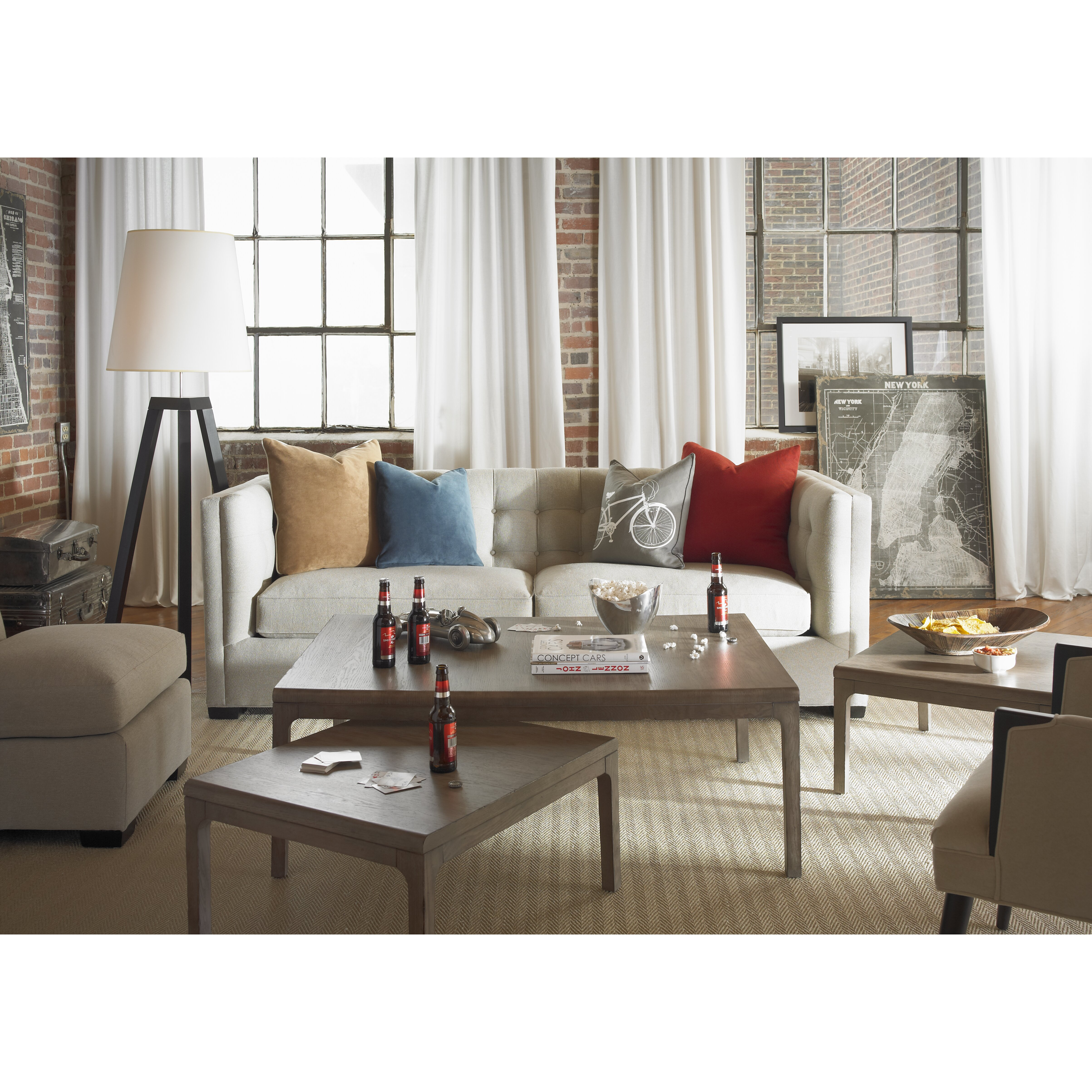 Somerton Dwelling Improv 3 Piece Nesting Coffee Table Set