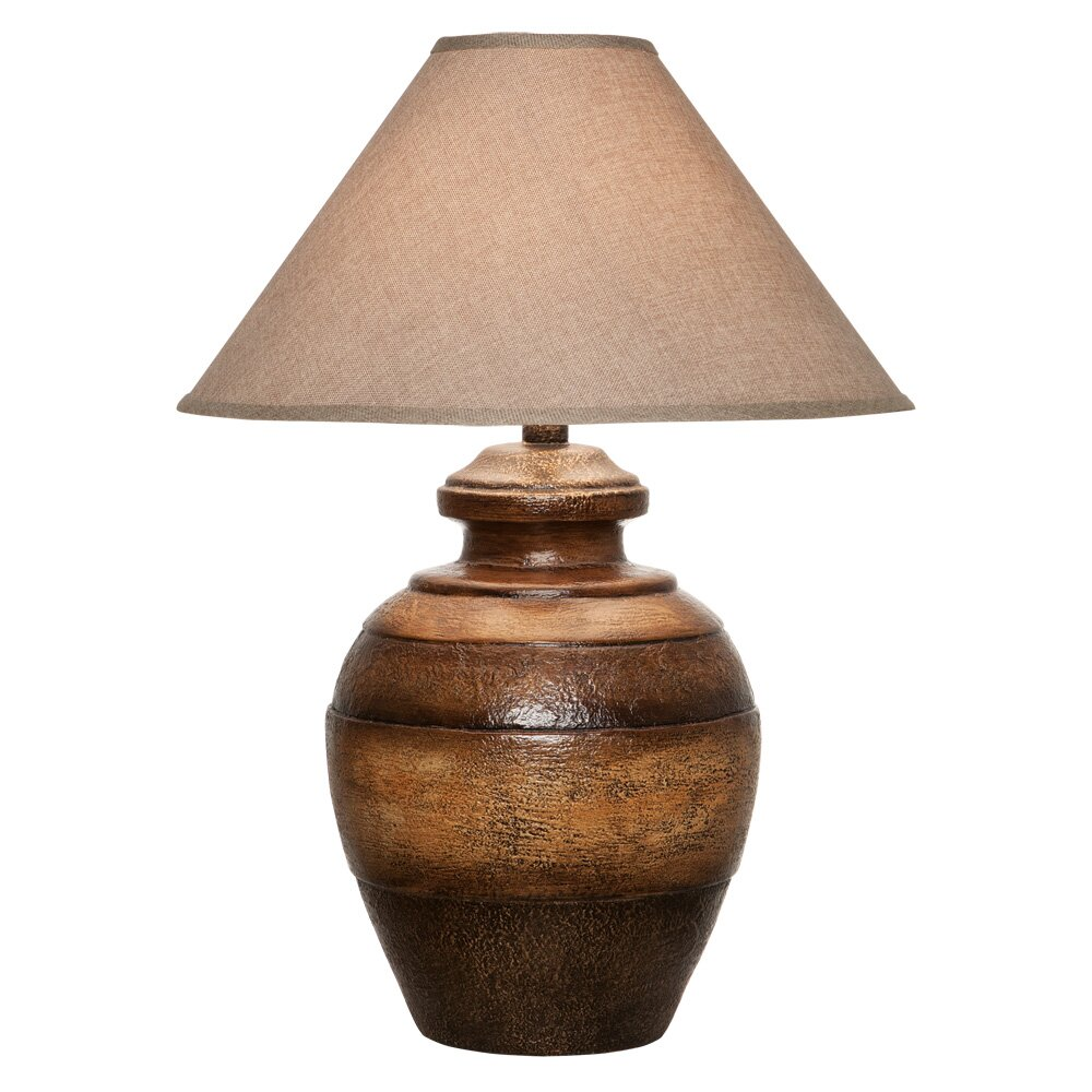 29 Quot H Table Lamp With Empire Shade Wayfair