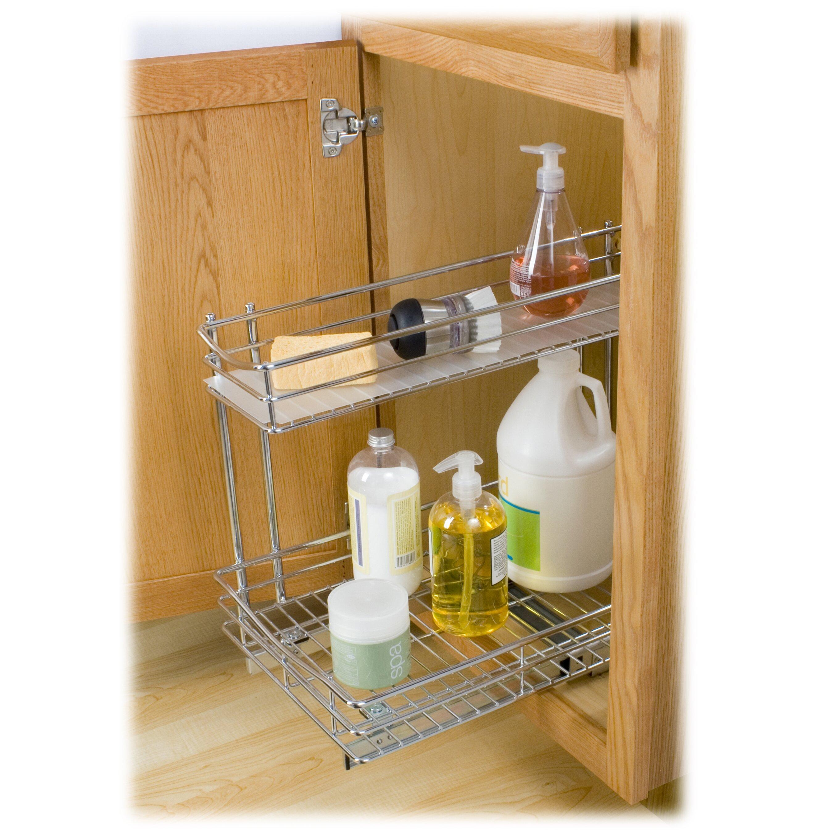 Under Cabinet Organizer. Great Kitchen Cabinets With Under Cabinet ...